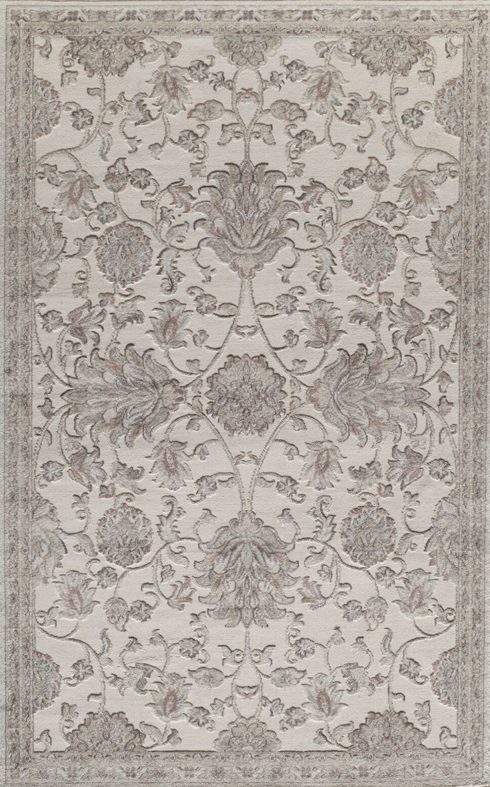 Sheldon Cream Area Rug Rug Size: 5' x 8'