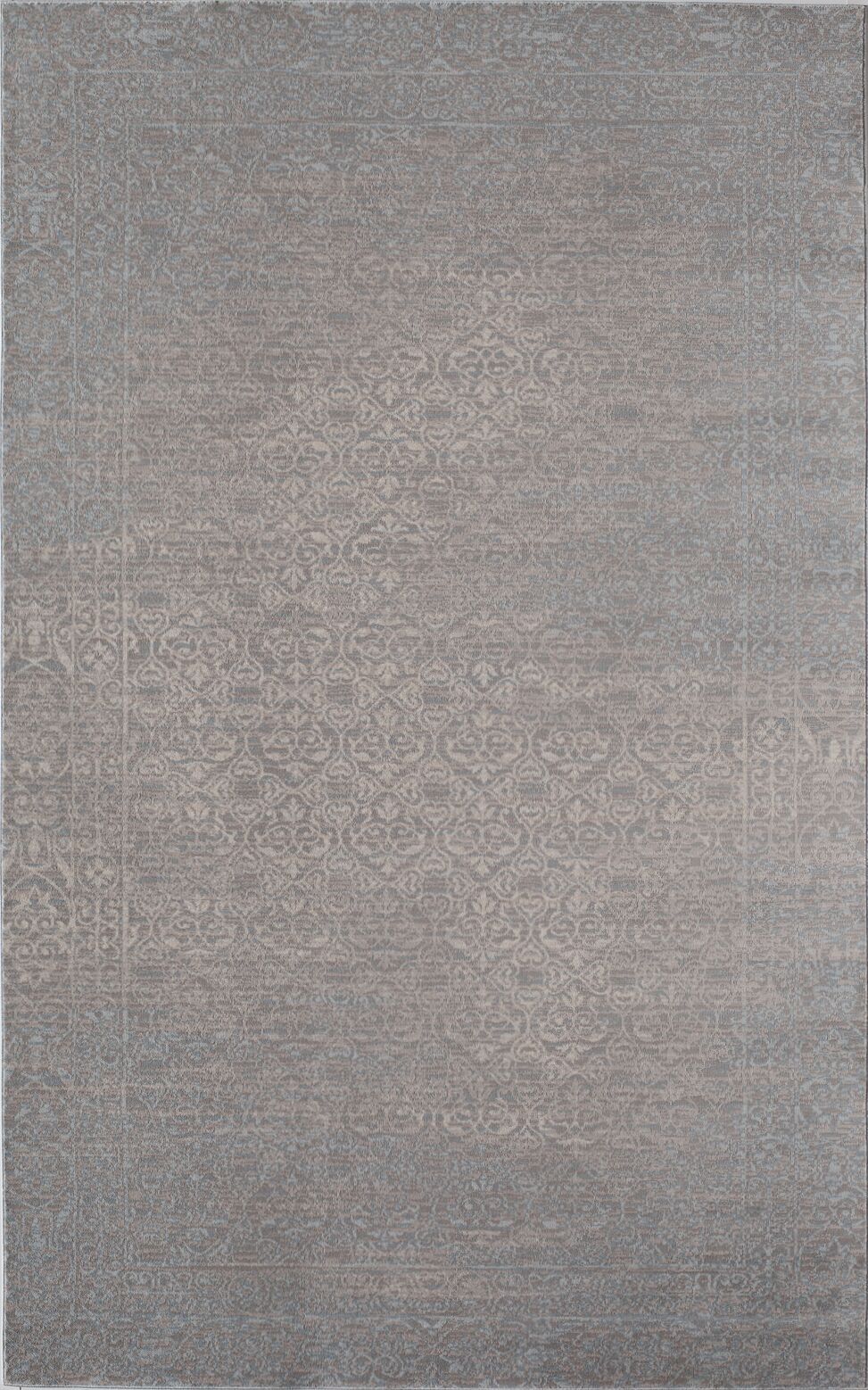 Wilshire Blue/Gray Area Rug Rug Size: Rectangle 5' x 8'