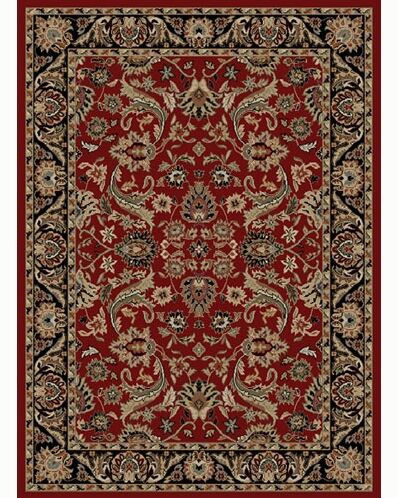 Ankara Sultanabad Red Area Rug Rug Size: Rectangle 5'3