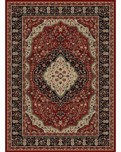 Ankara Kerman Red Rug Rug Size: Rectangle 7'10