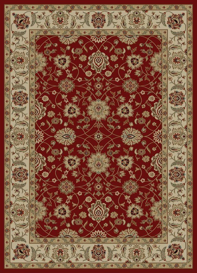 Ankara Zeigler Red Rug Rug Size: Rectangle 7'10