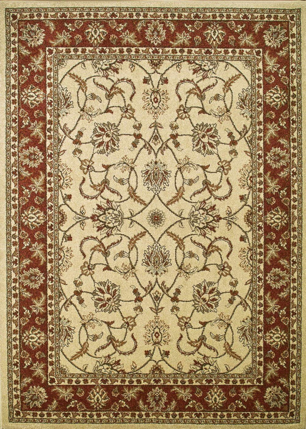 Chester Sultan Ivory Rug Rug Size: Rectangle 5'3