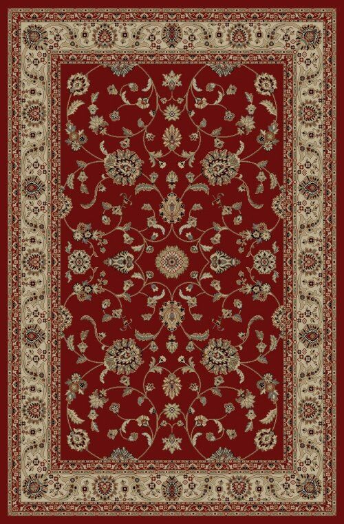 Jewel Marash Red Area Rug Rug Size: Rectangle 2'7