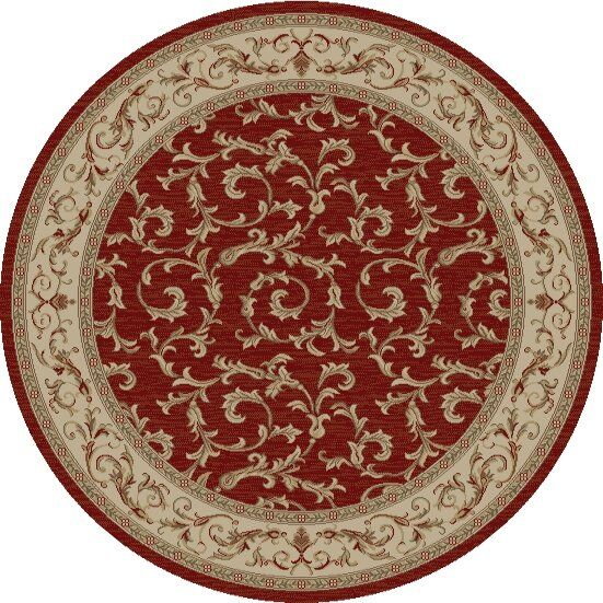 Jewel Veronica Red Floral Area Rug Rug Size: Rectangle 2'7