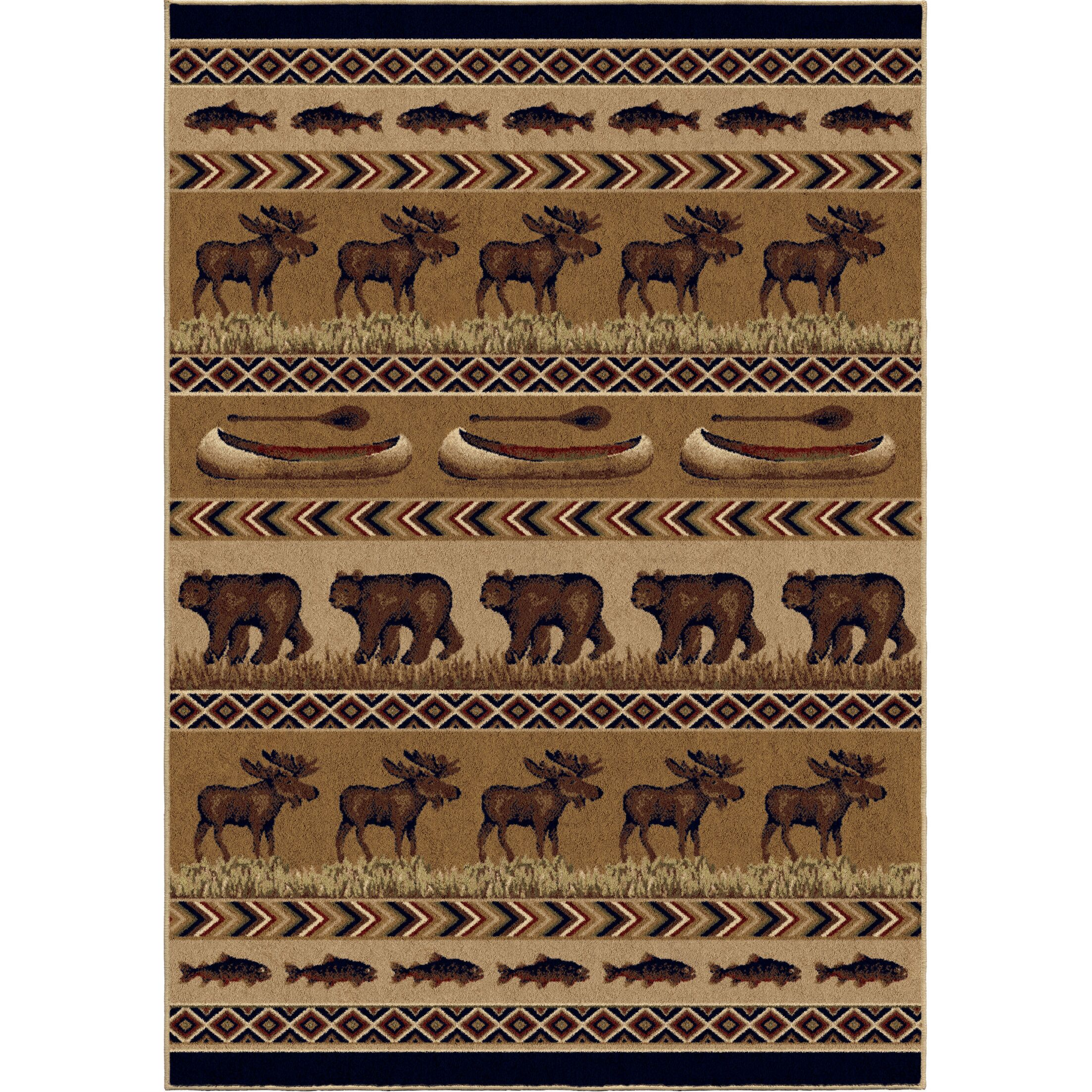 Judith Brown Area Rug Rug Size: Rectangle 7'10