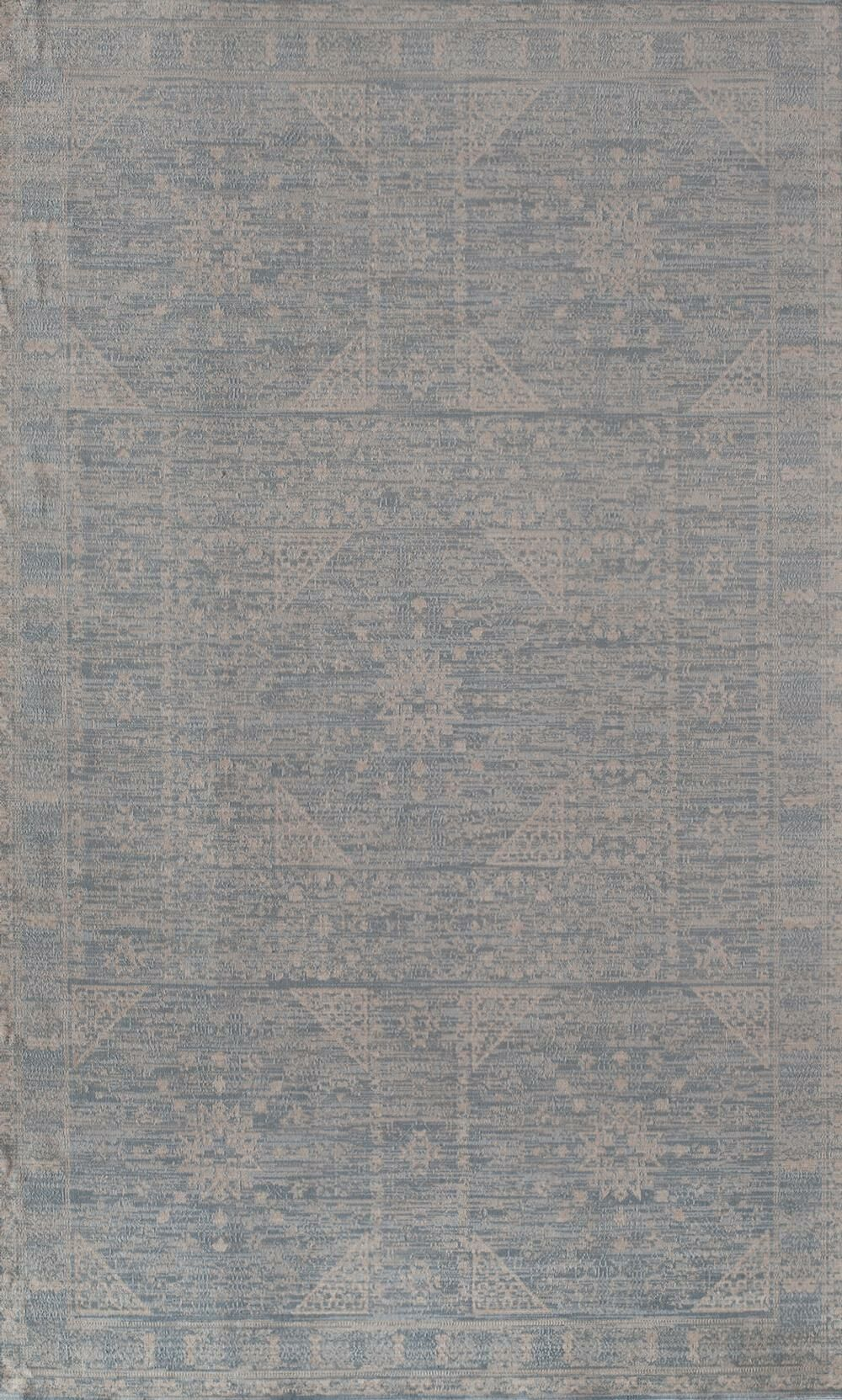 Wilshire Blue Area Rug Rug Size: 5' x 8'
