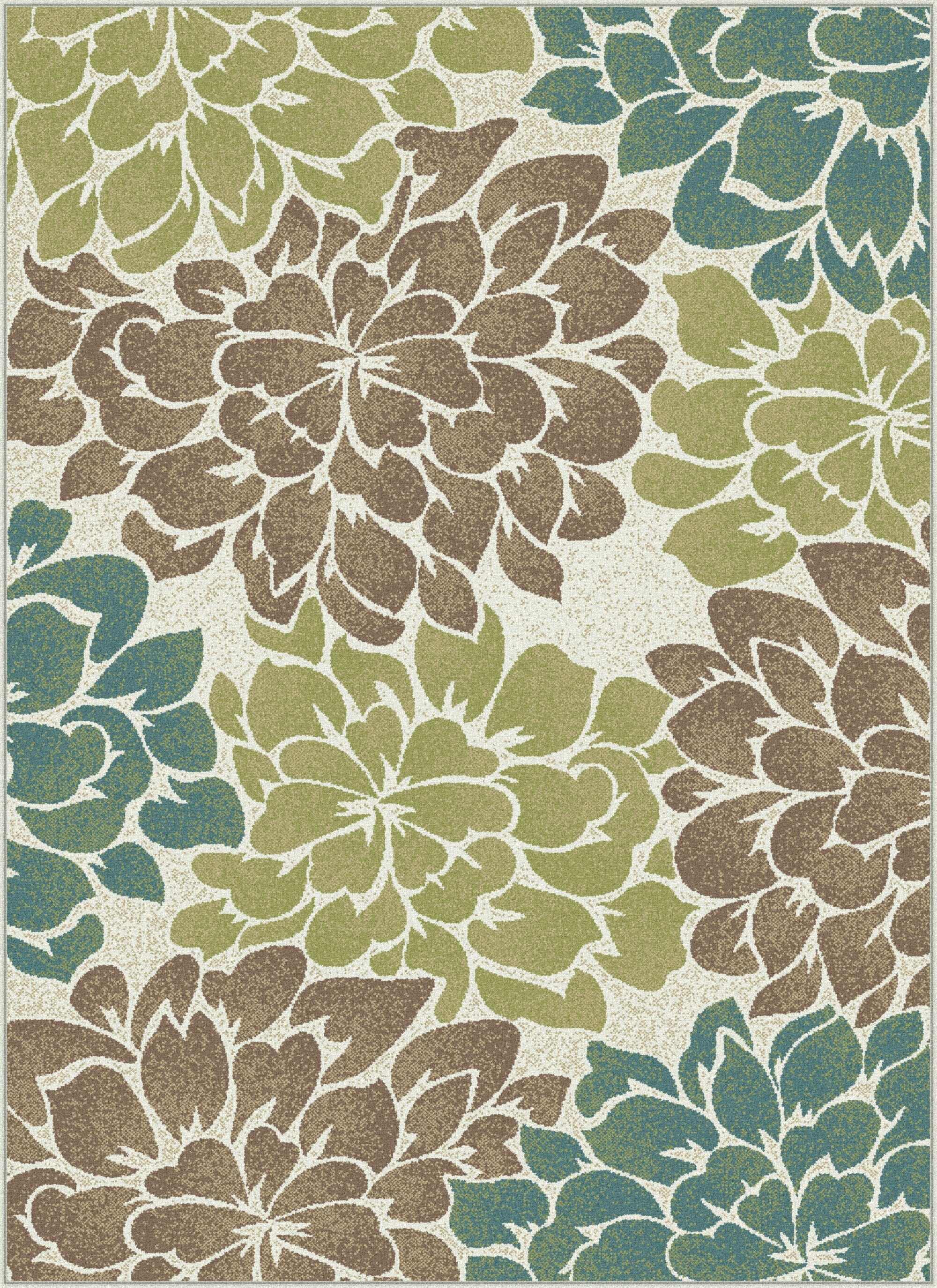Travis Ivory Area Rug Rug Size: 5'3'' x 7'3''