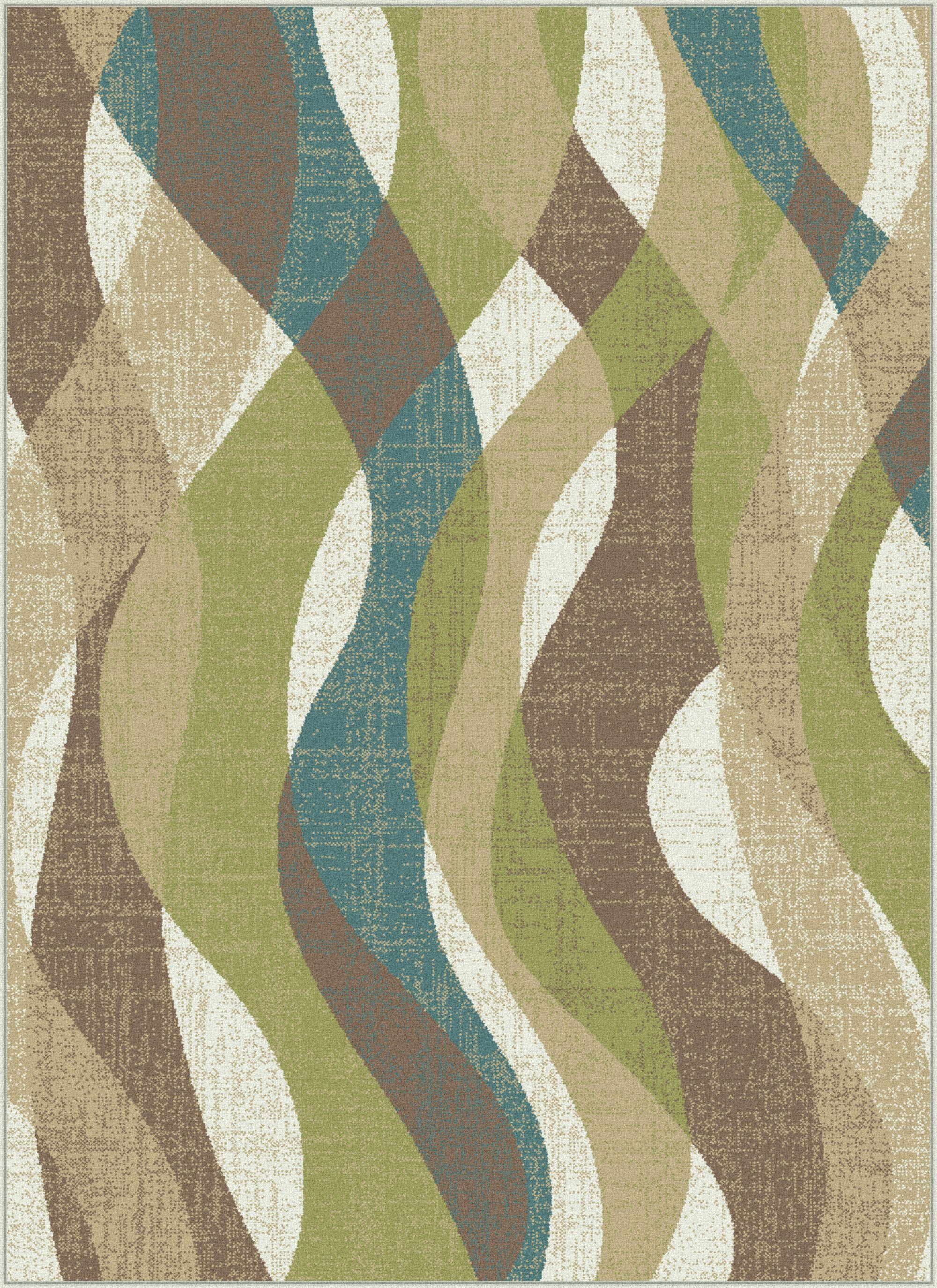 O'Malley Ivory Area Rug Rug Size: 5'3'' x 7'3''