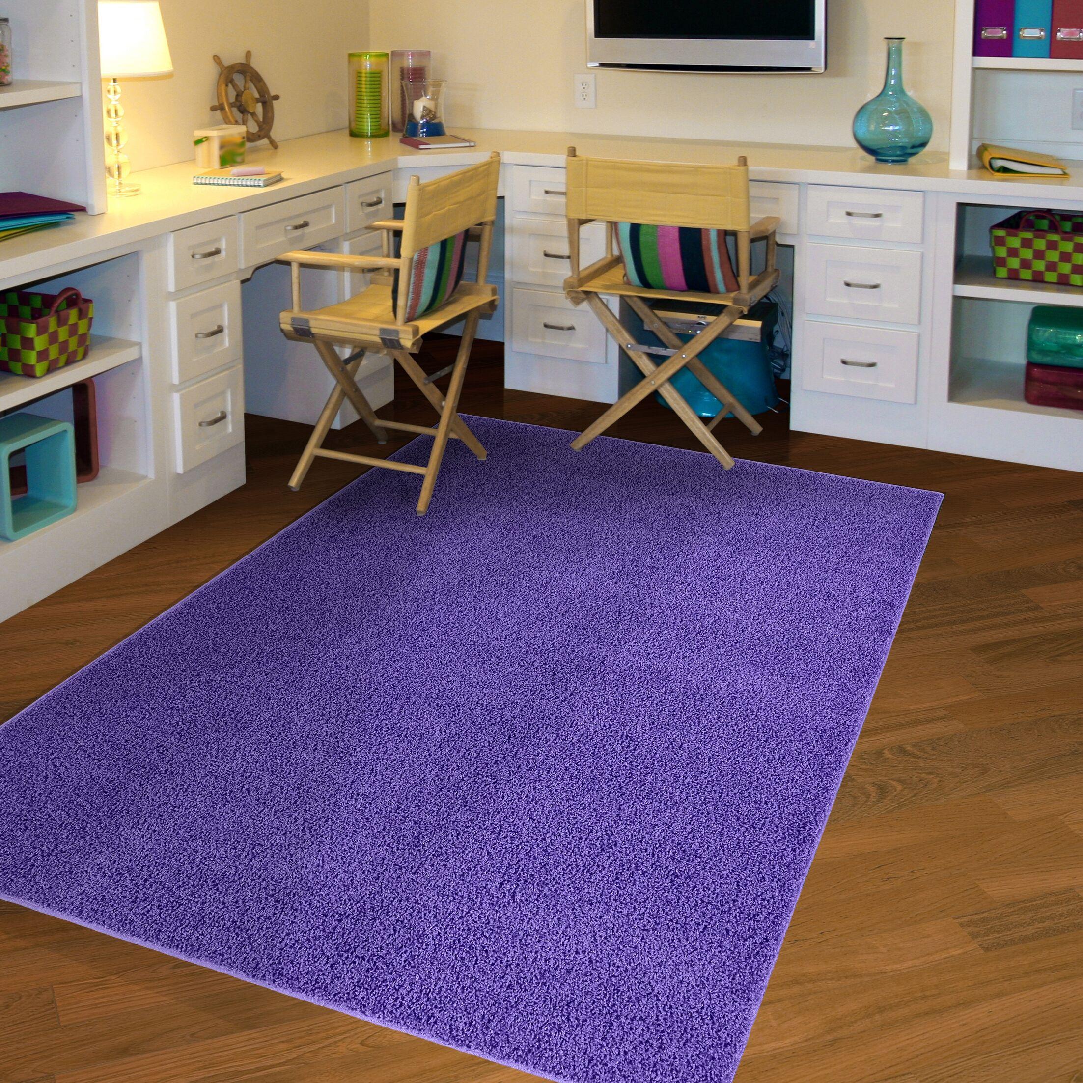 Tabitha Purple Indoor/Outdoor Area Rug Rug Size: 5' x 8'