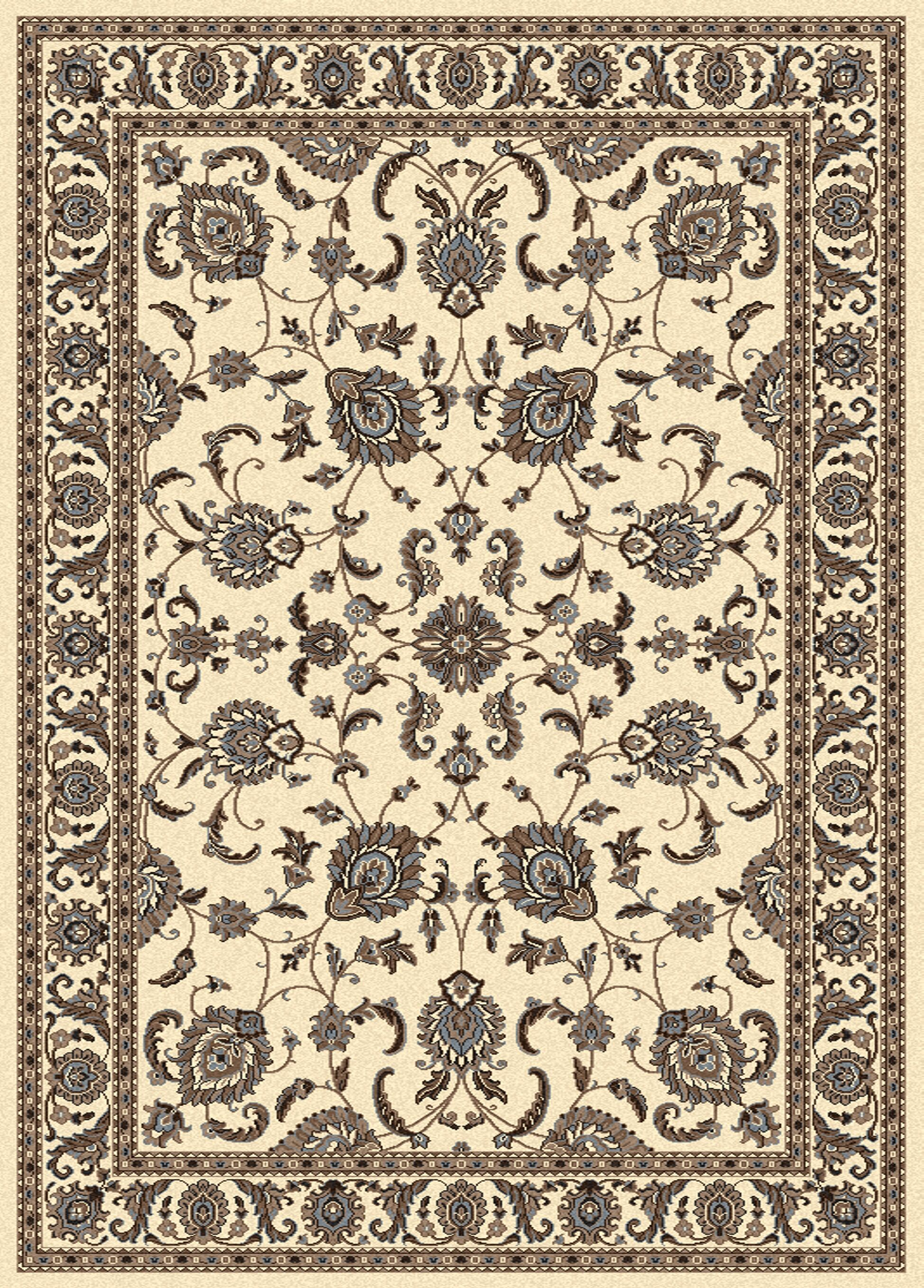 Weiser Ivory Area Rug Rug Size: Rectangle 5'5