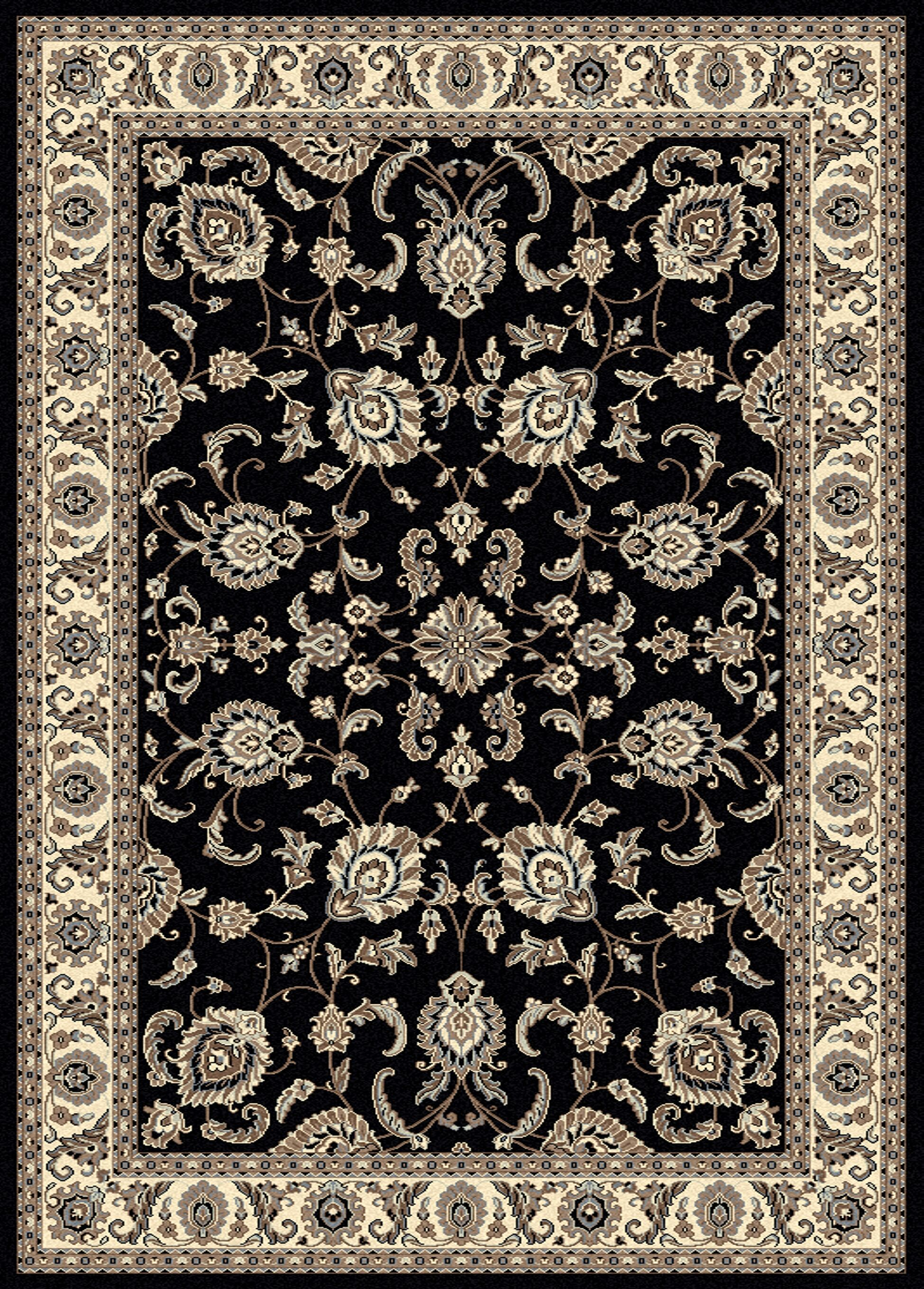 Weiser Rectangle Multi-Colored Oriental Area Rug Rug Size: Rectangle 5'5