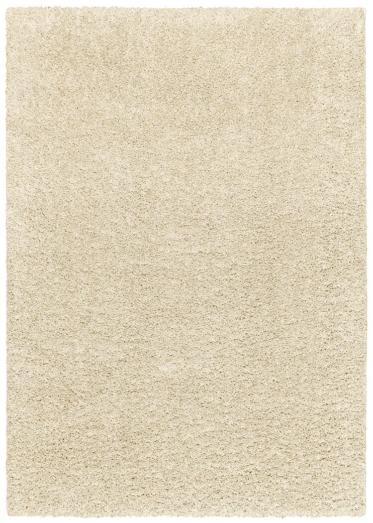Vanessa Hand-Tufted White Area Rug Rug Size: Rectangle 7'5