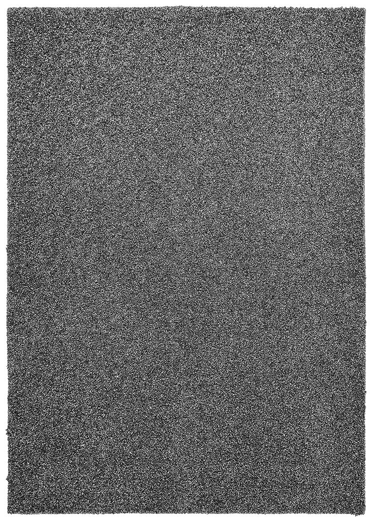 Vanessa Hand-Tufted Dark Silver Area Rug Rug Size: Rectangle 5' x 7'