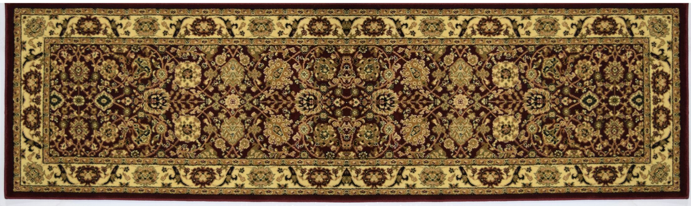 Gloucester Red Area Rug Rug Size: Runner 2'3