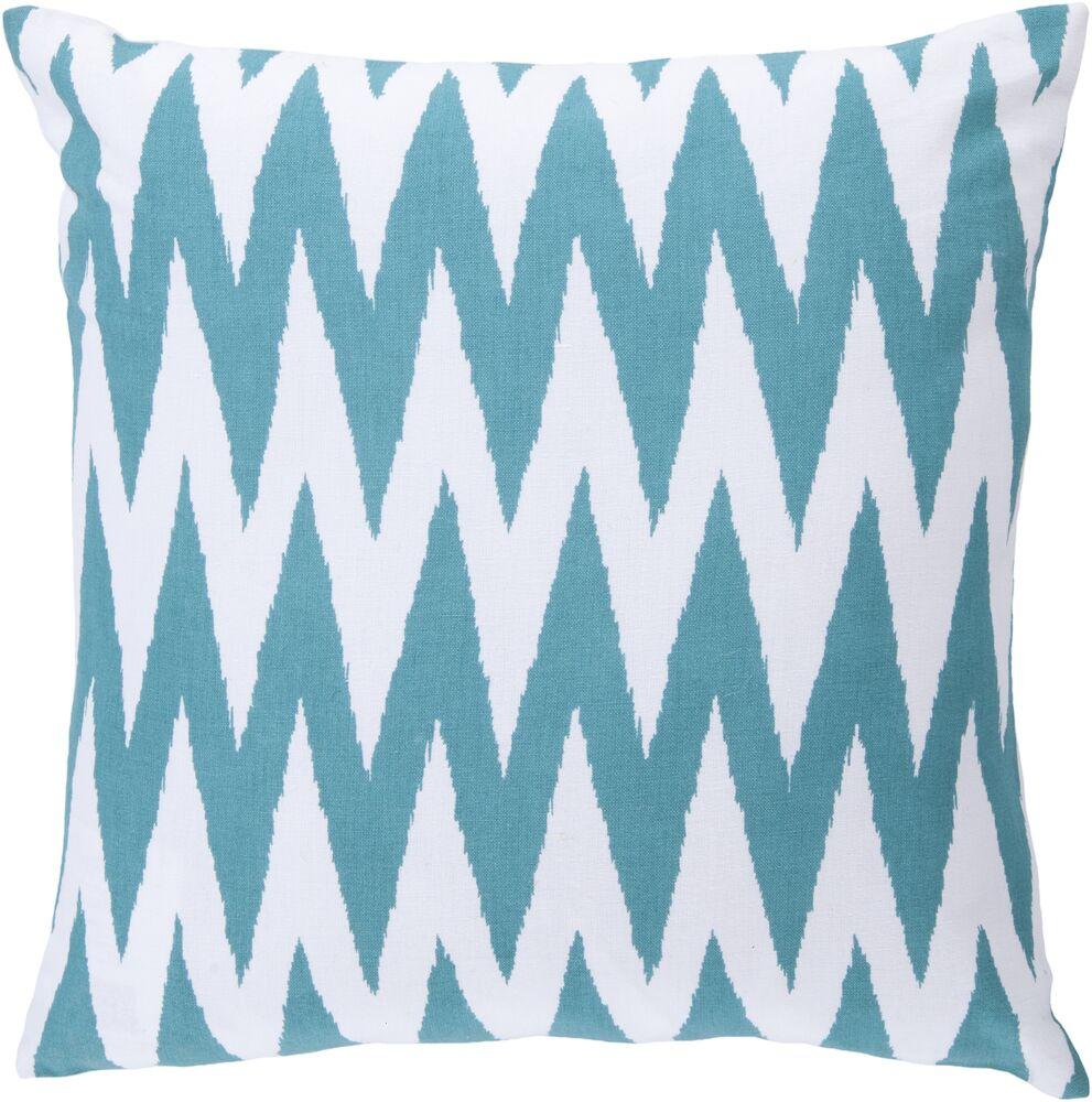 Oretha Chevron Cotton Pillow Cover Size: 20