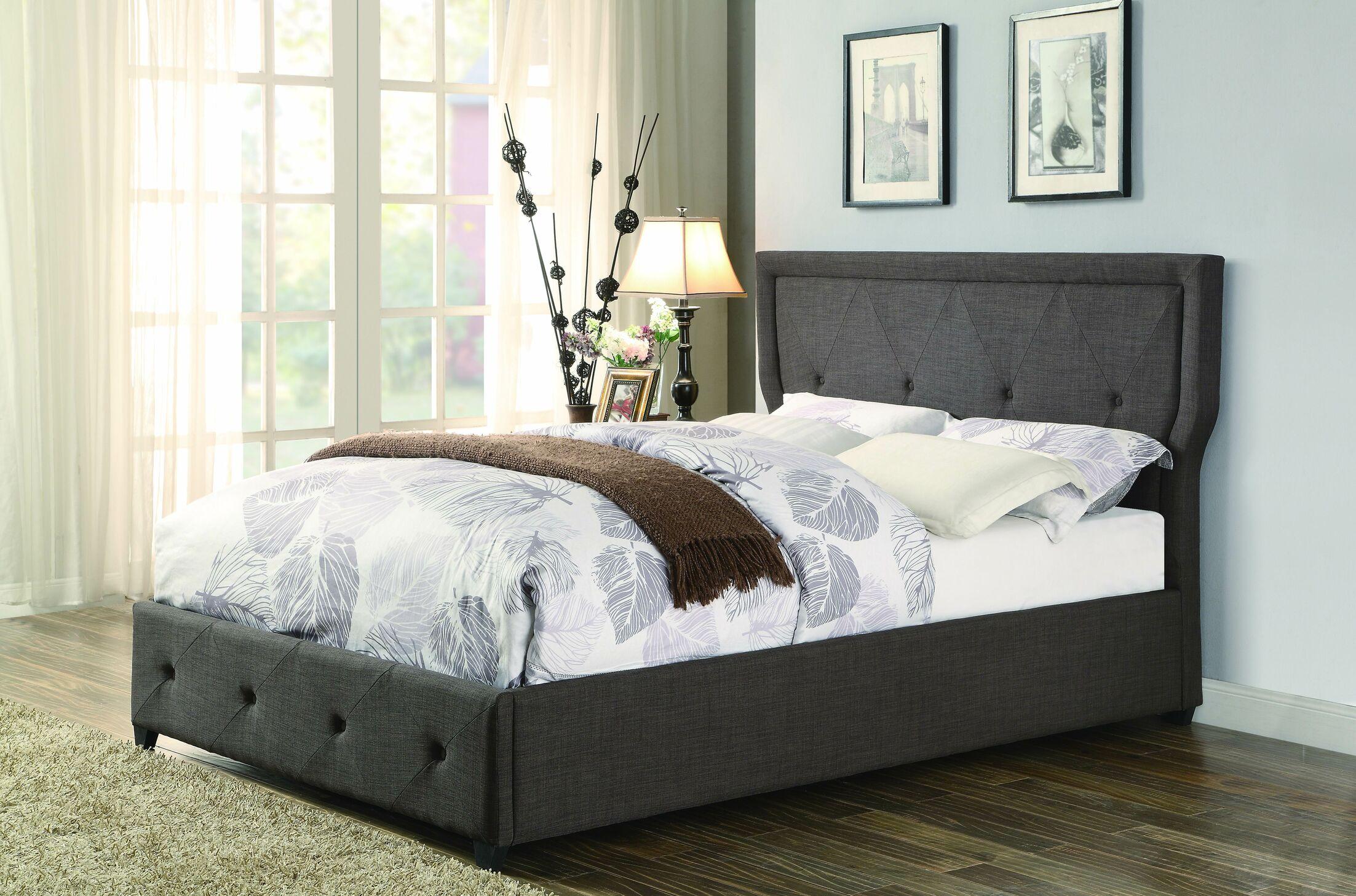 Caroline Upholstered Platform Bed Size: Full