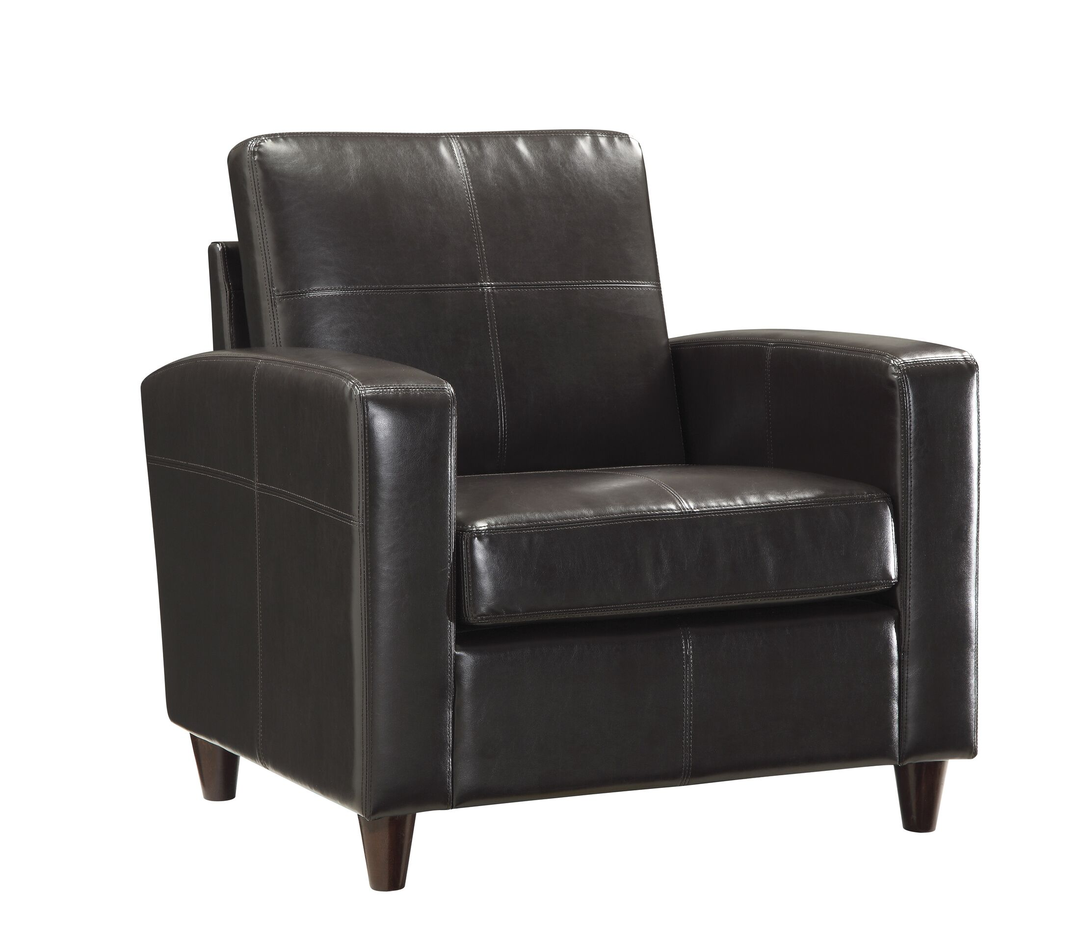 Caswell Lounge Chair Upholstery: Espresso