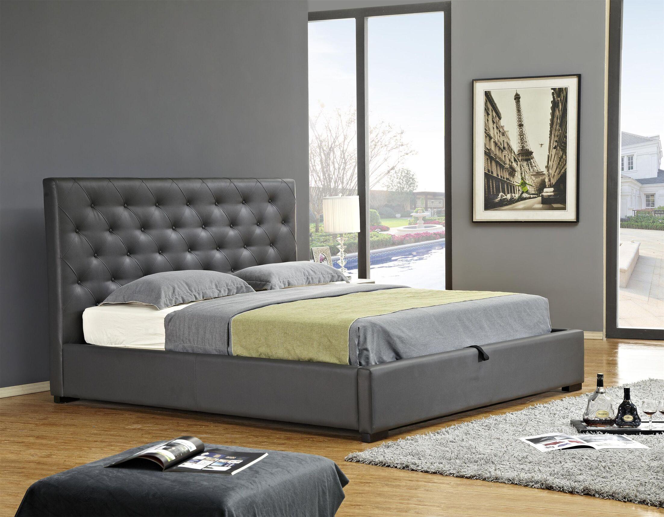 Delaney Upholstered Storage Platform Bed Size: Queen
