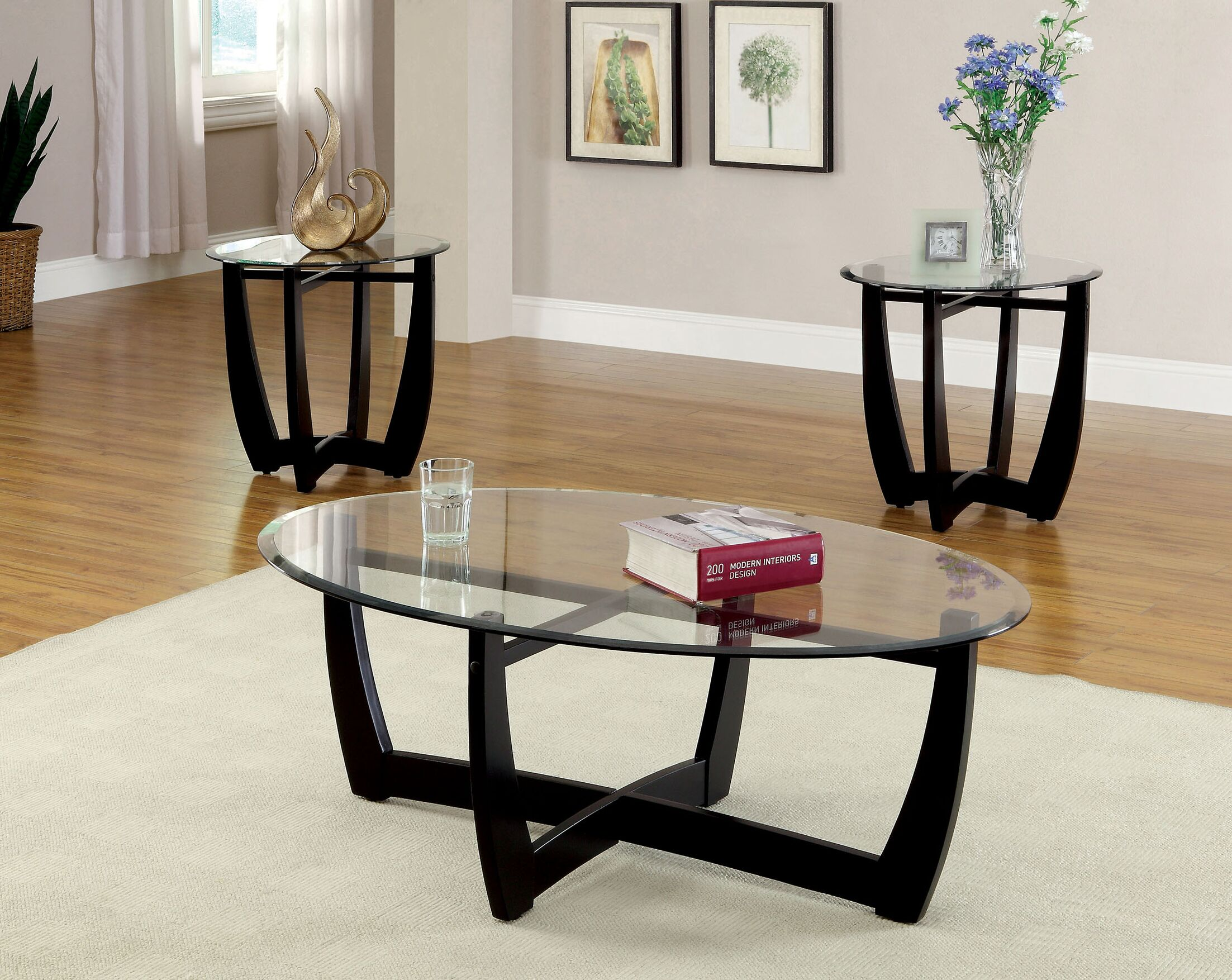 Mattie 3 Piece Coffee Table Set