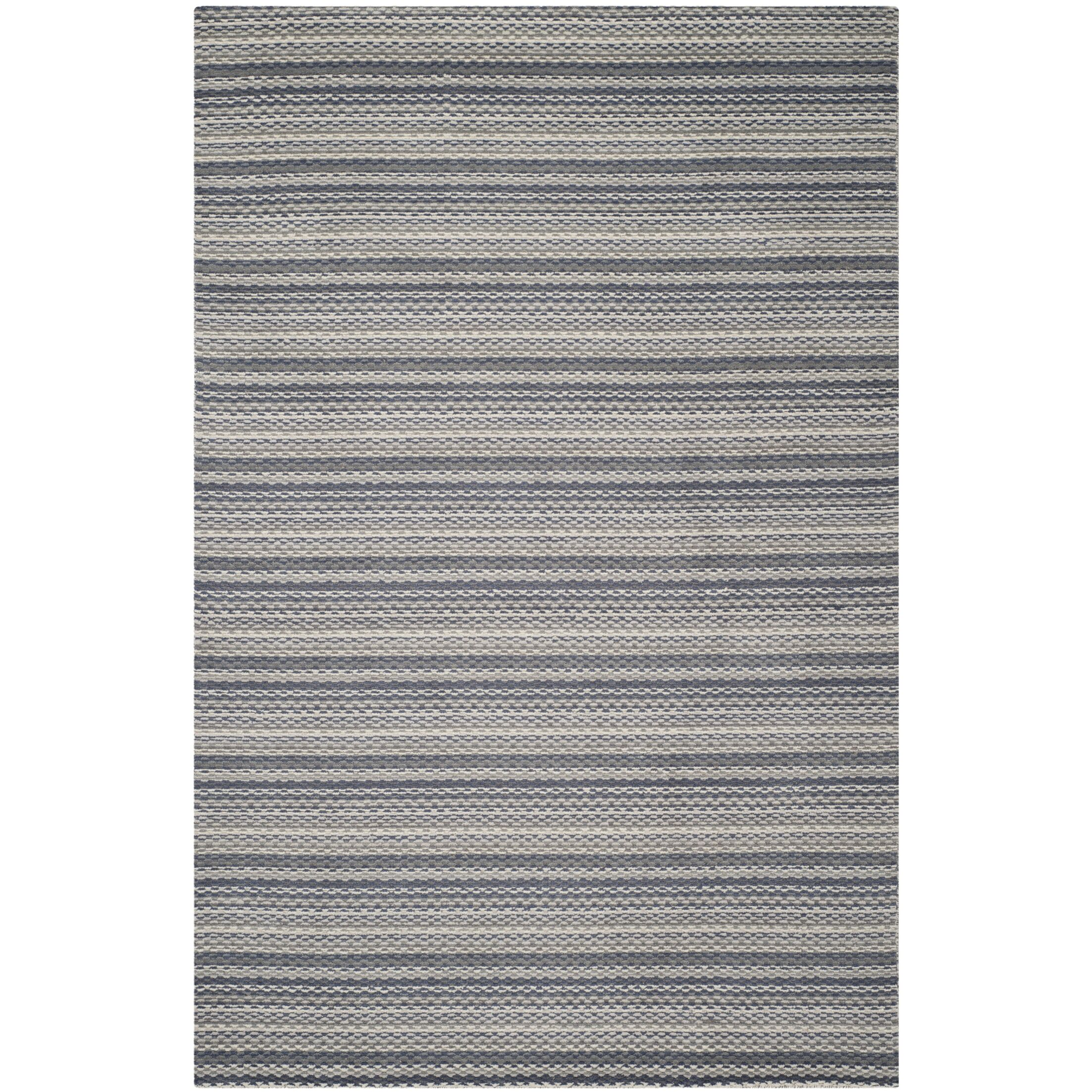 Keith Grey Area Rug Rug Size: Rectangle 6' x 9'