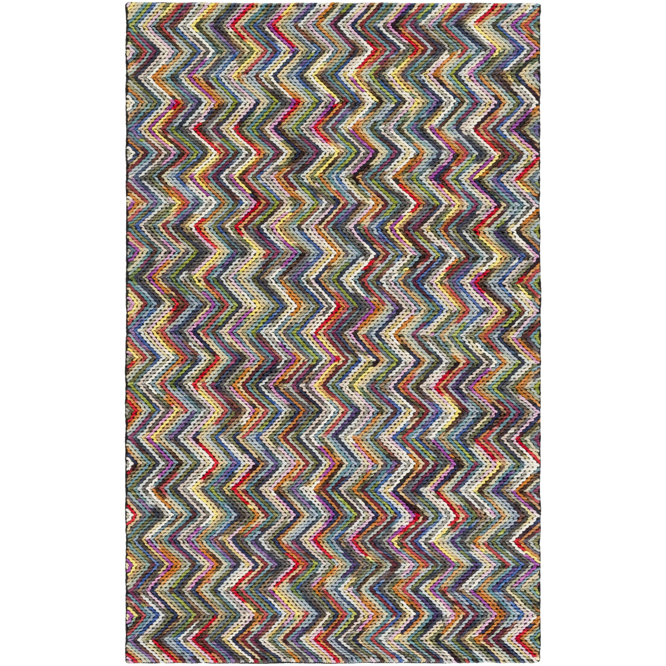 Ines Hand-Woven Area Rug Rug Size: Rectangle 8' x 10'