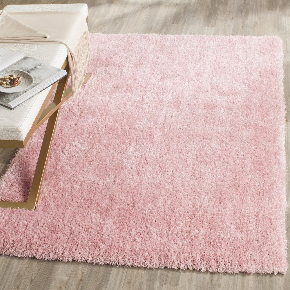 Winnett Hand-Tufted Pink Area Rug Rug Size: Square 5' x 5'
