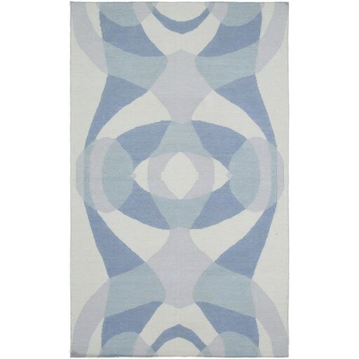 Aikens Hand-Woven Gray Area Rug Rug Size: Rectangle 5' x 7'6