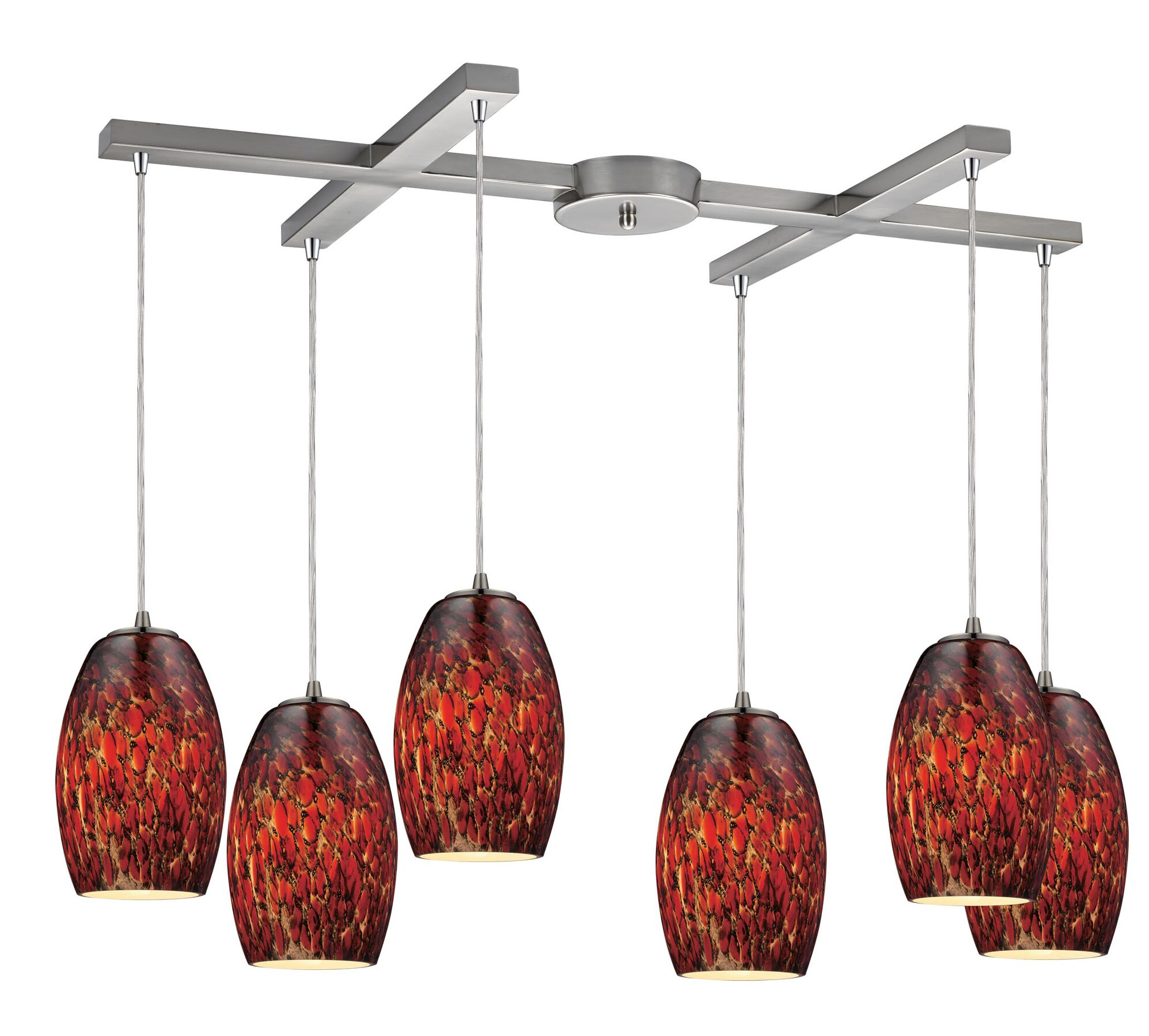Dorado 6-Light Cluster Pendant