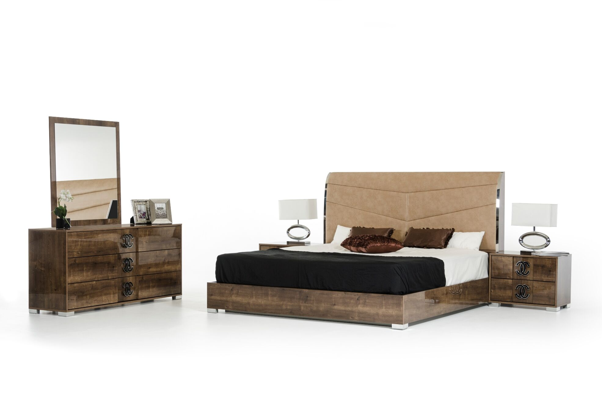 Fruge 5 Piece Bedroom Set Size: King