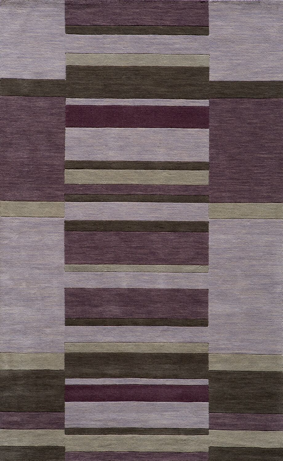 Gilda Hand-Tufted Lilac Area Rug Rug Size: Rectangle 5' x 8'