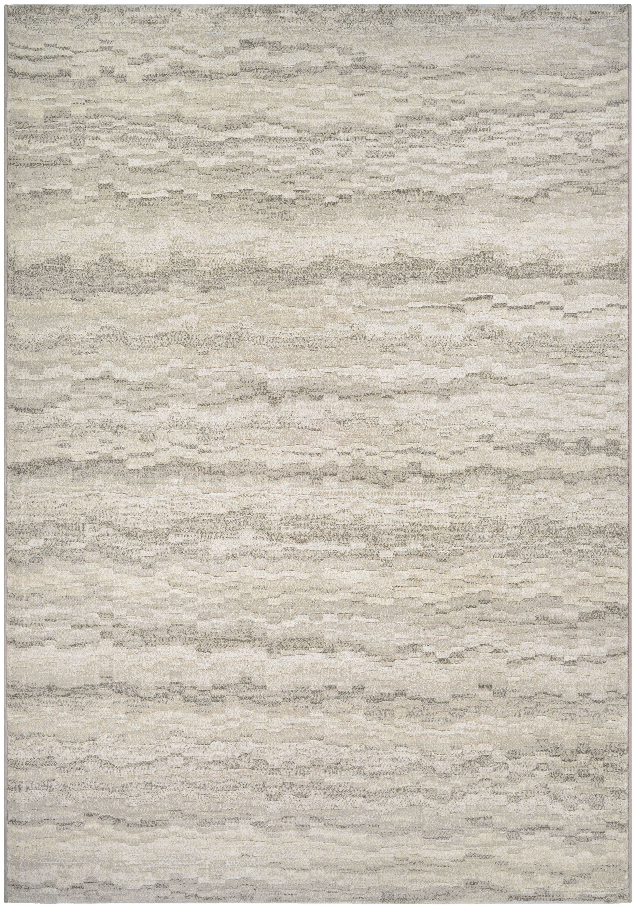 Lou Earthtones/Taupe Area Rug Rug Size: Rectangle 5'3
