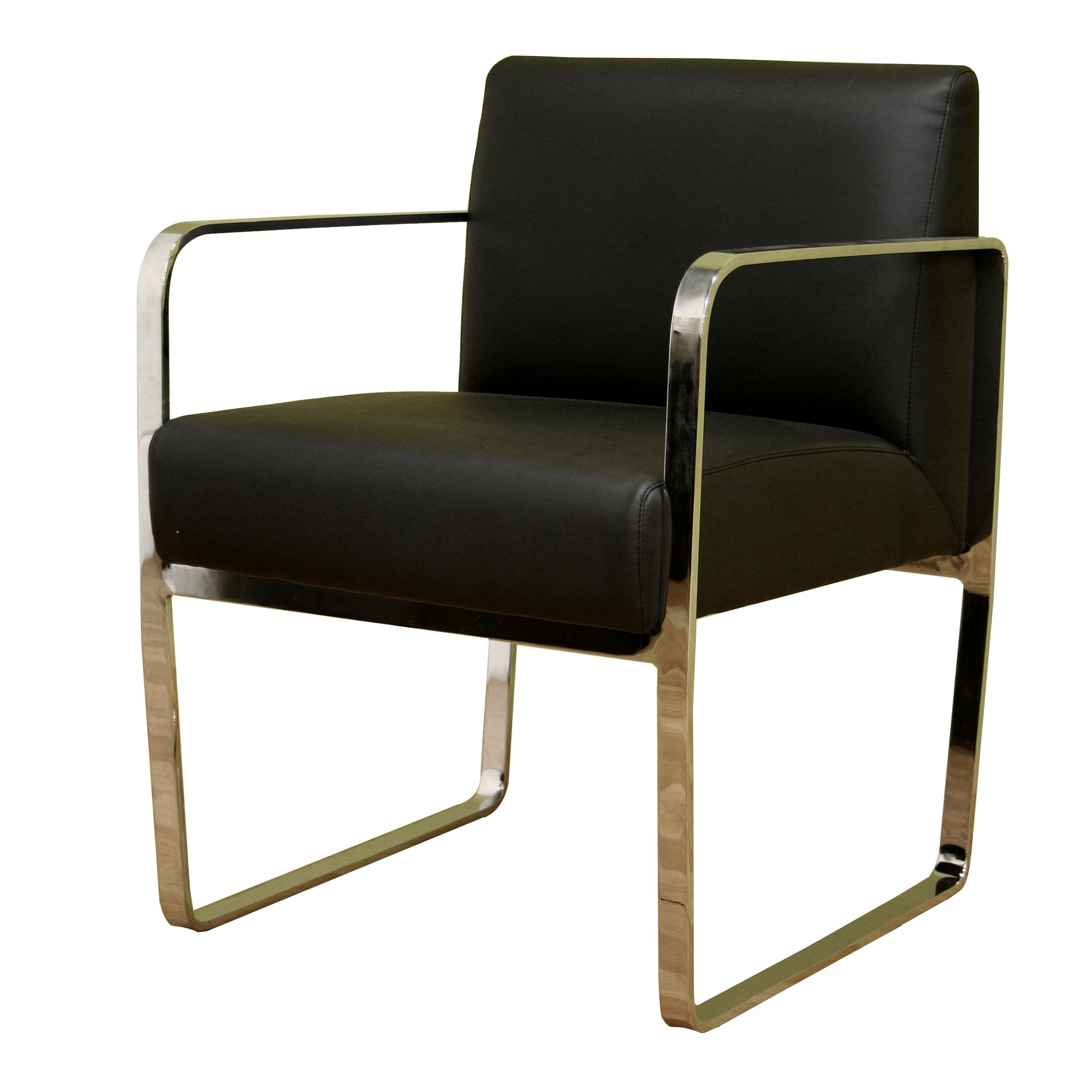 Theta Leather Guest Chair