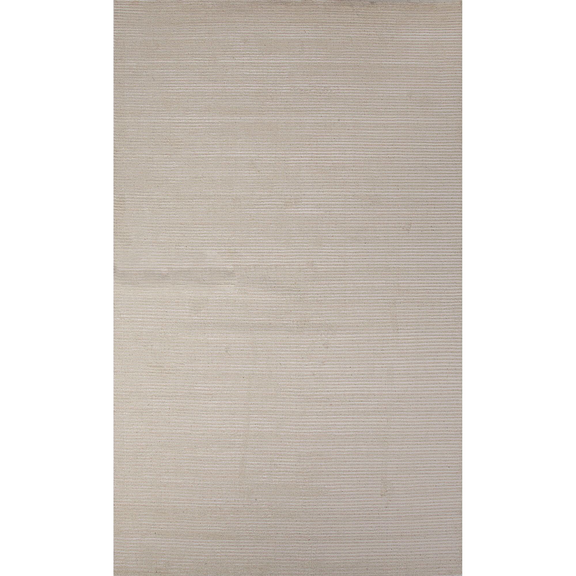 Quinones Wool and Art Silk Solids/Handloom Gray Area Rug Rug Size: Rectangle 5' x 8'