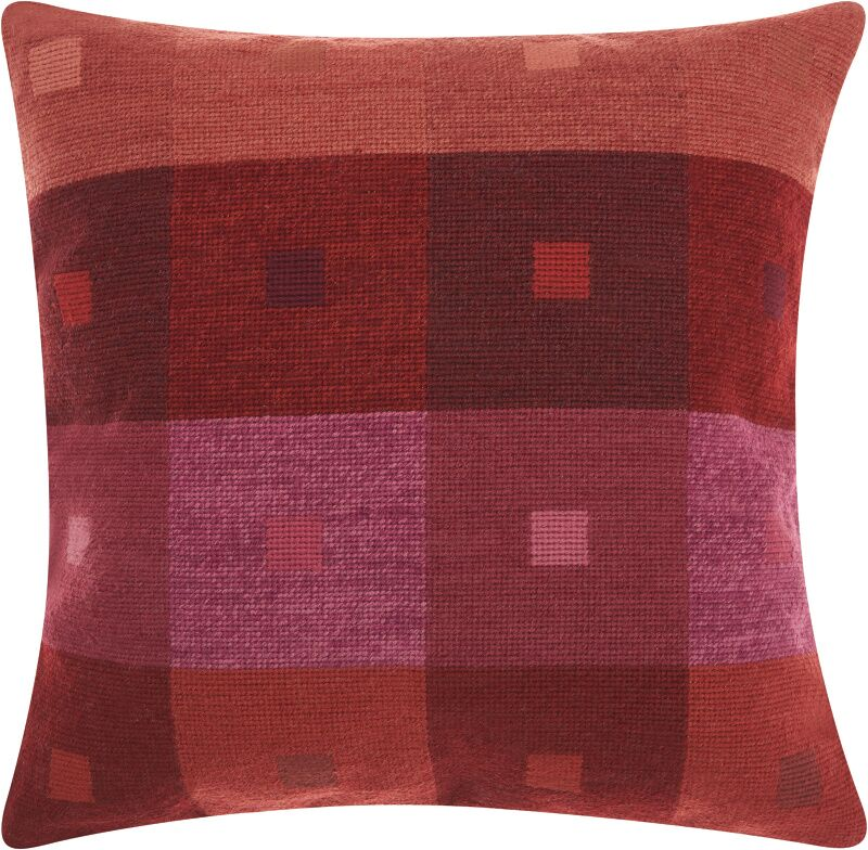 Colophon Wool Throw Pillow