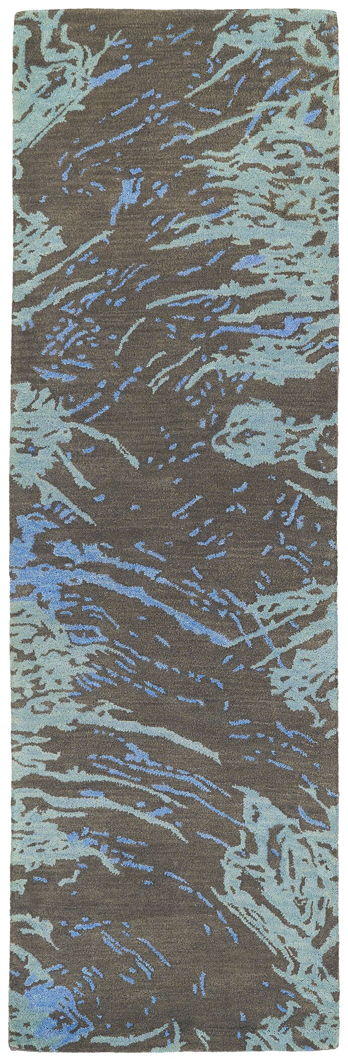 Virginis Chocolate Area Rug Rug Size: Runner 2'6