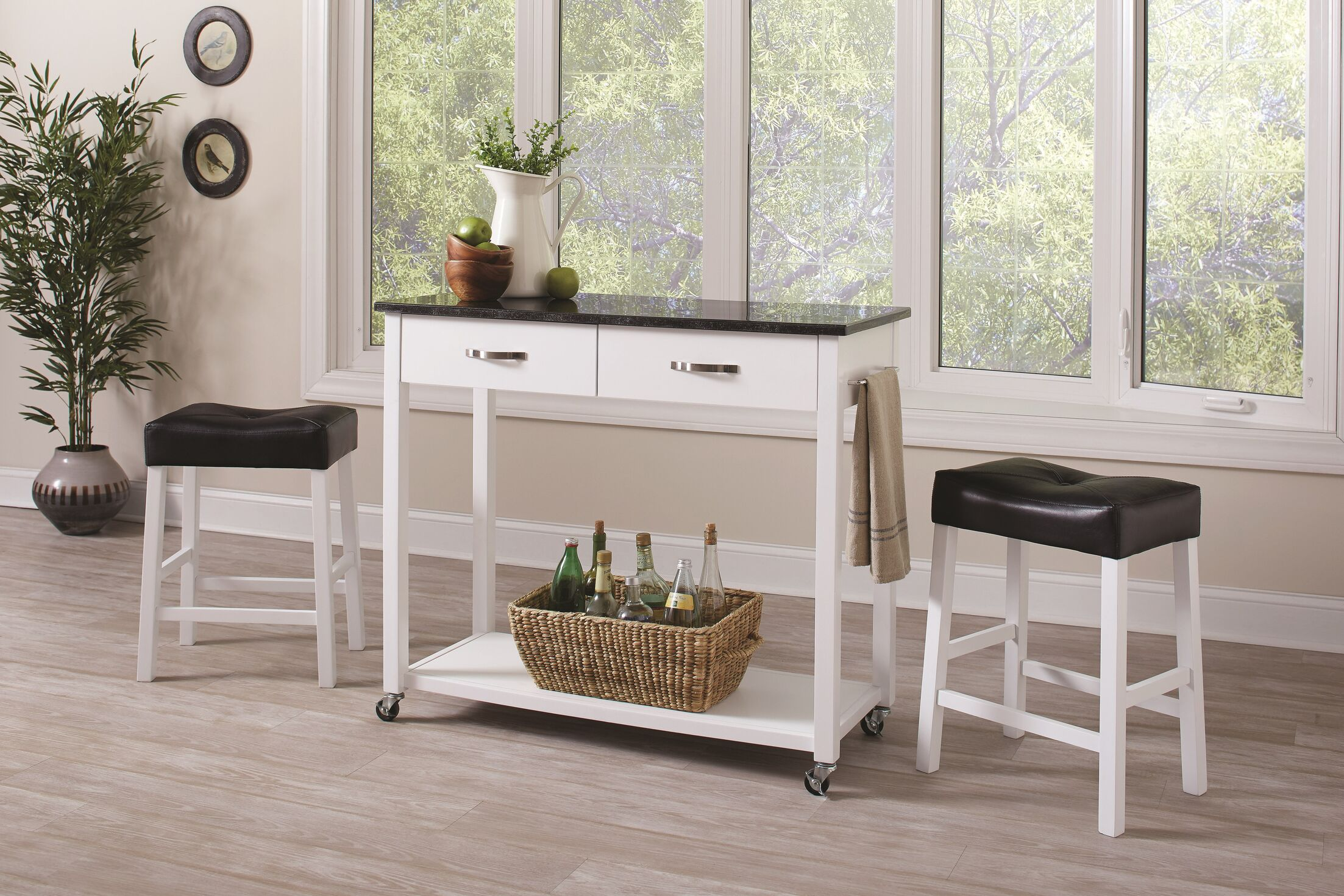 Dining Table Sets Danae 3 Piece Dining Set