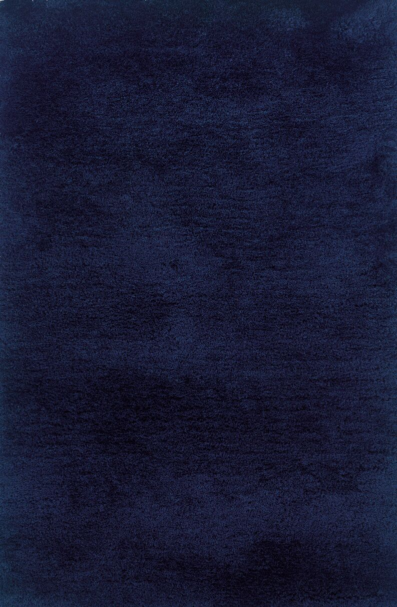Albritton Hand-made Blue Area Rug Rug Size: Rectangle 5' x 7'