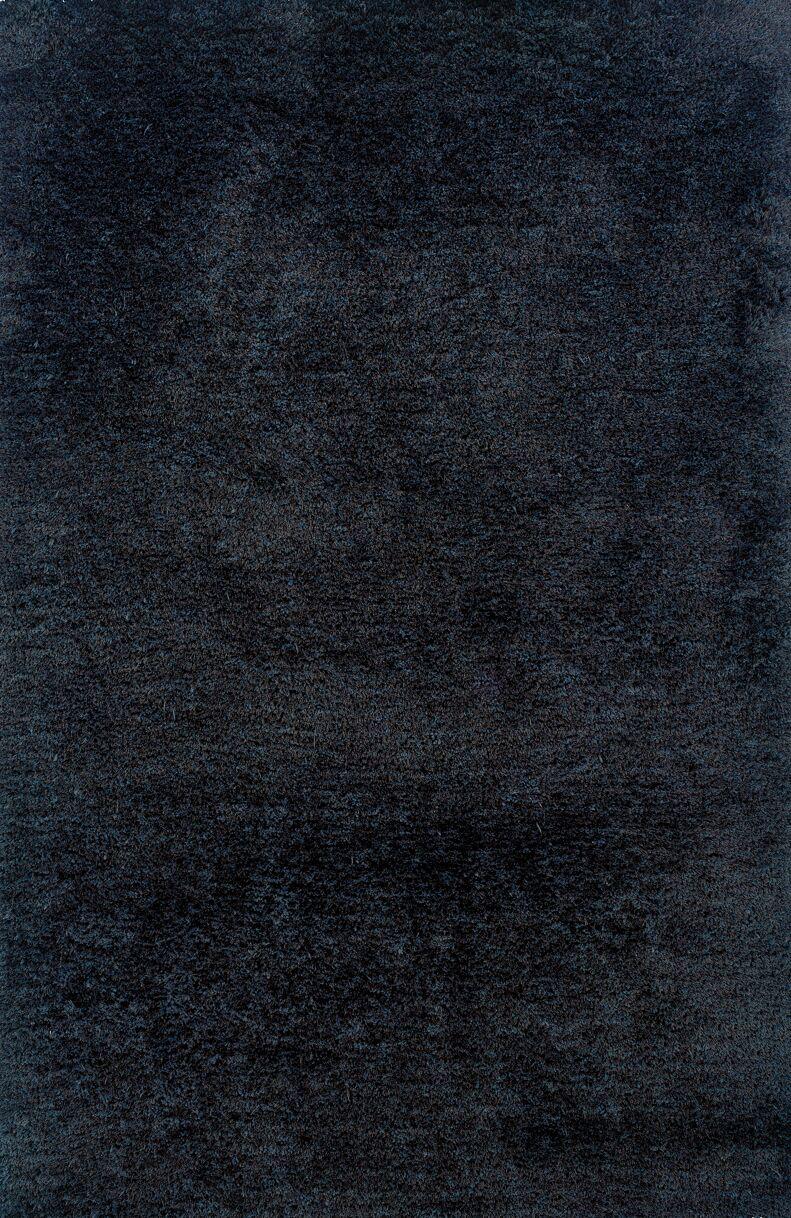 Albritton Hand-made Black Area Rug Rug Size: Rectangle 3'3