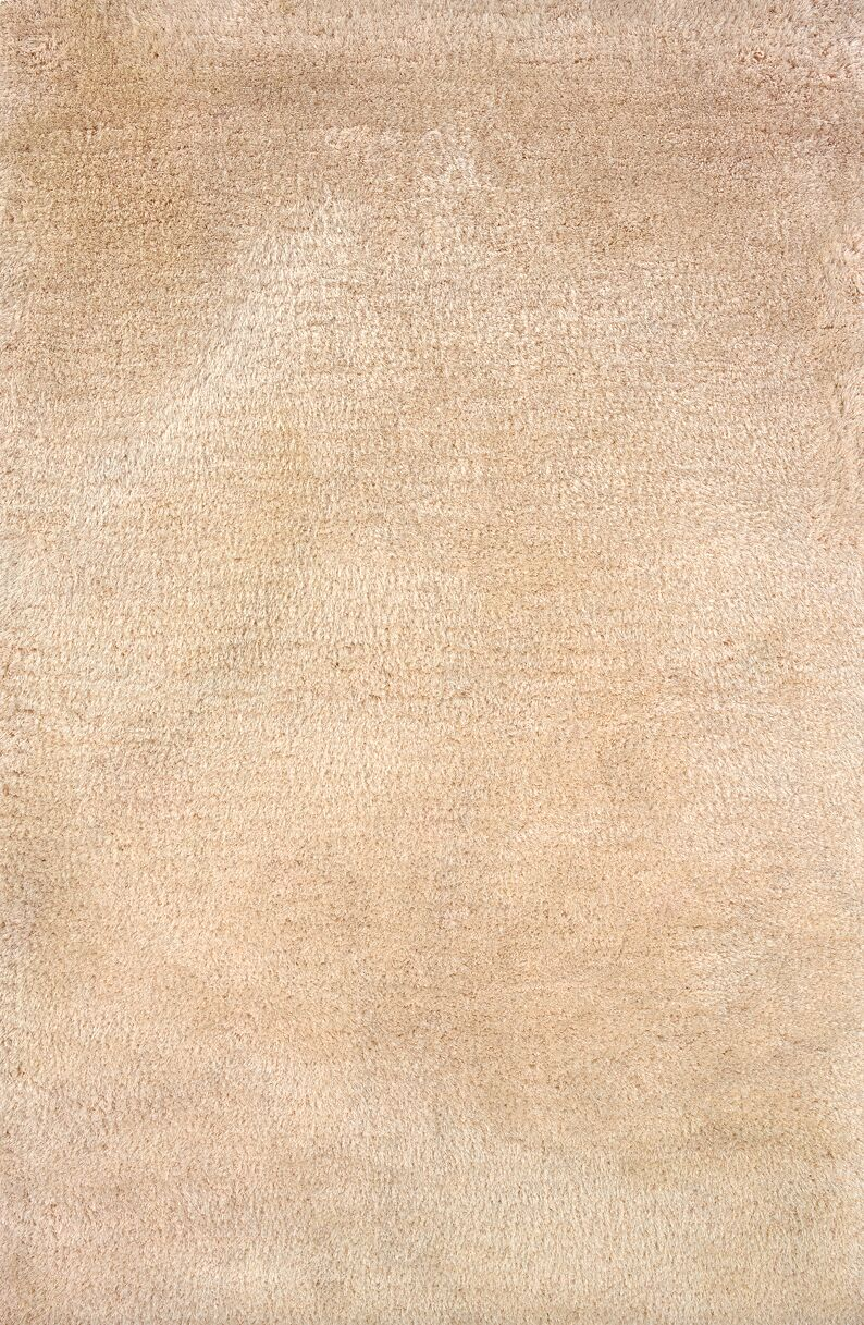 Albritton Handmade Beige Area Rug Rug Size: Rectangle 8' x 11'