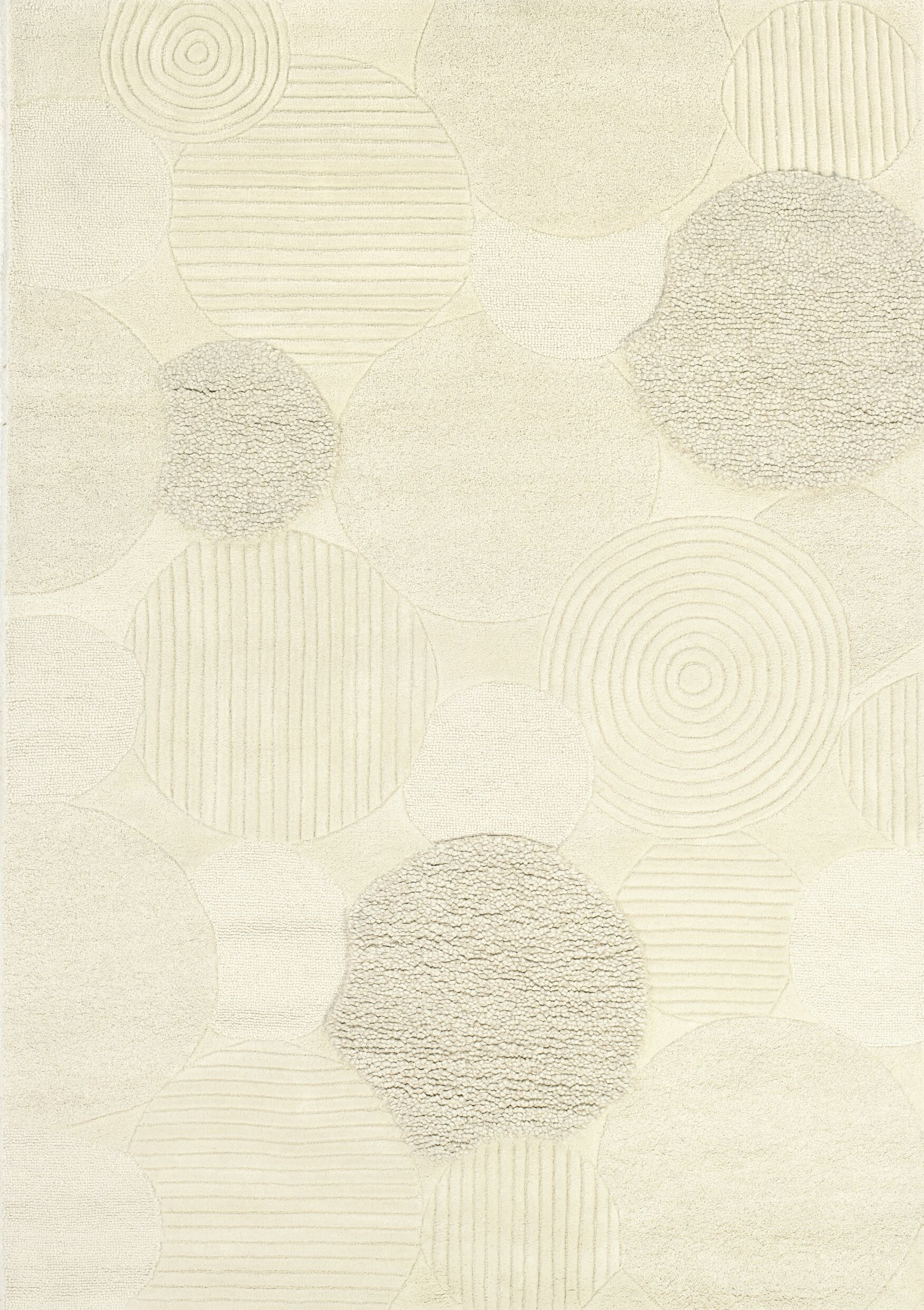 Alessandro Hand-Woven Natural Area Rug Rug Size: Rectangle 5'6