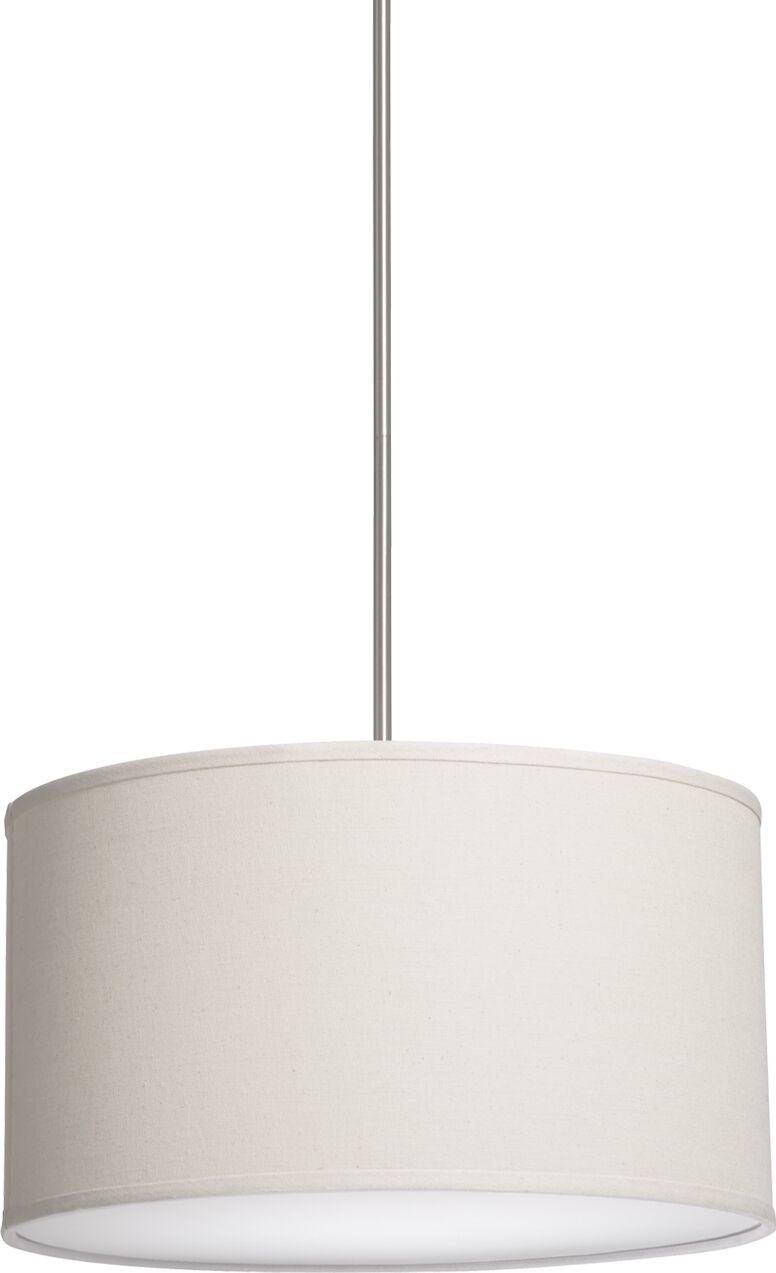 Stabile 3 Light Pendant Shade Color: White