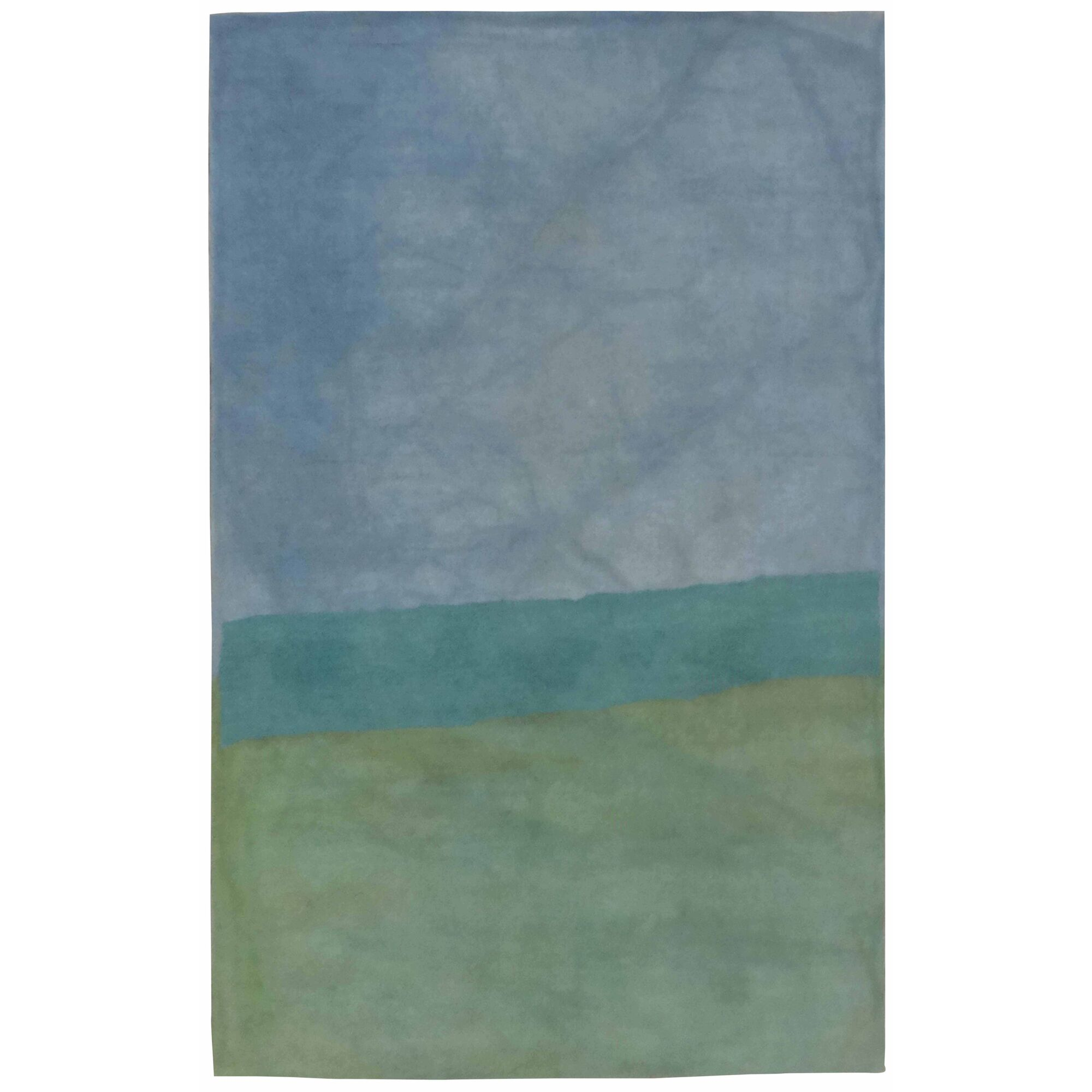 Mullican Hand-Tufted Wool Green/Blue Area Rug Rug Size: Rectangle 7'6