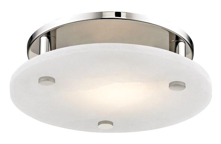 Owen 1-Light LED Flush Mount Finish: Polished Nickel