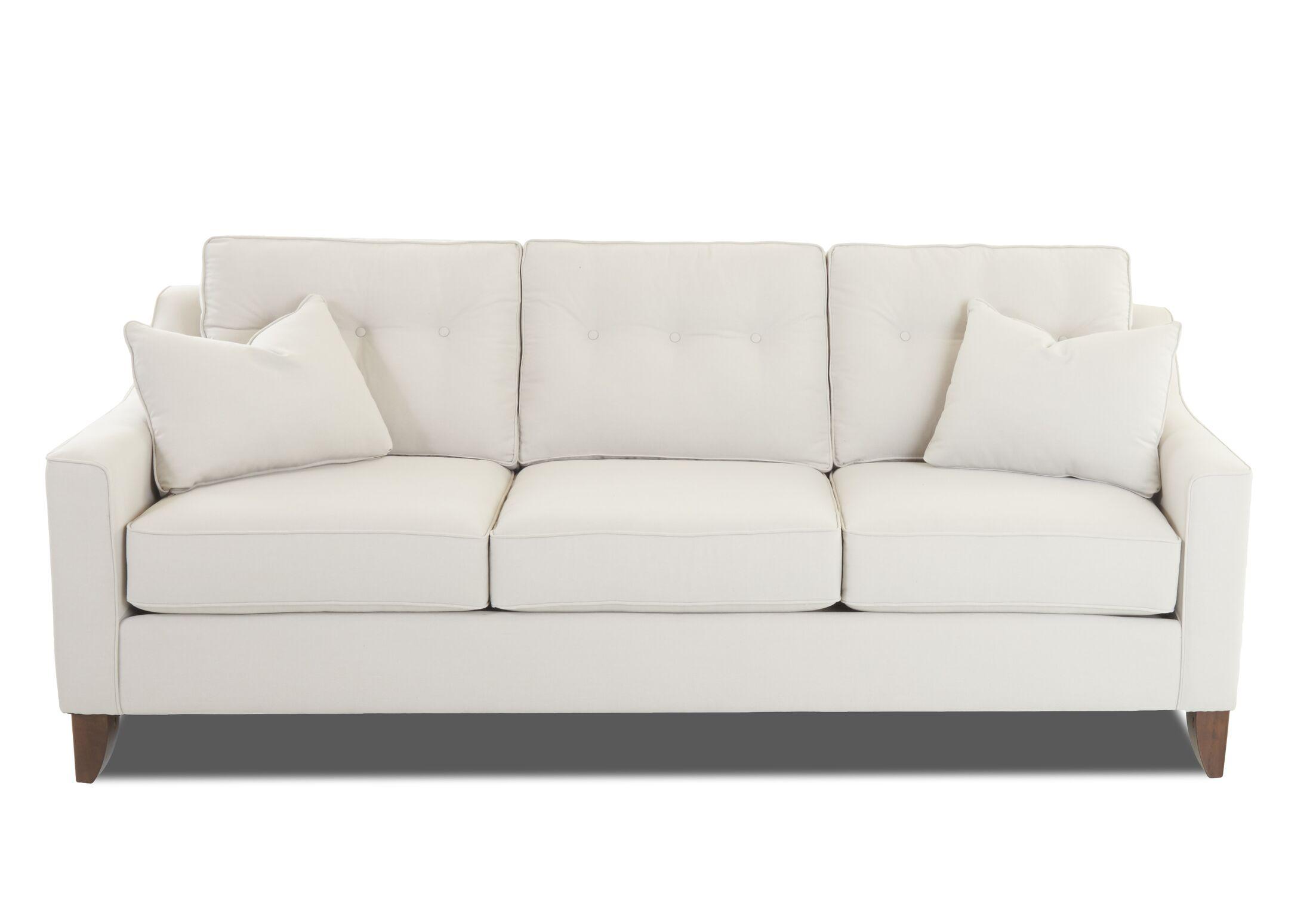 Pardo Sofa Upholstery: Oakley Ivory