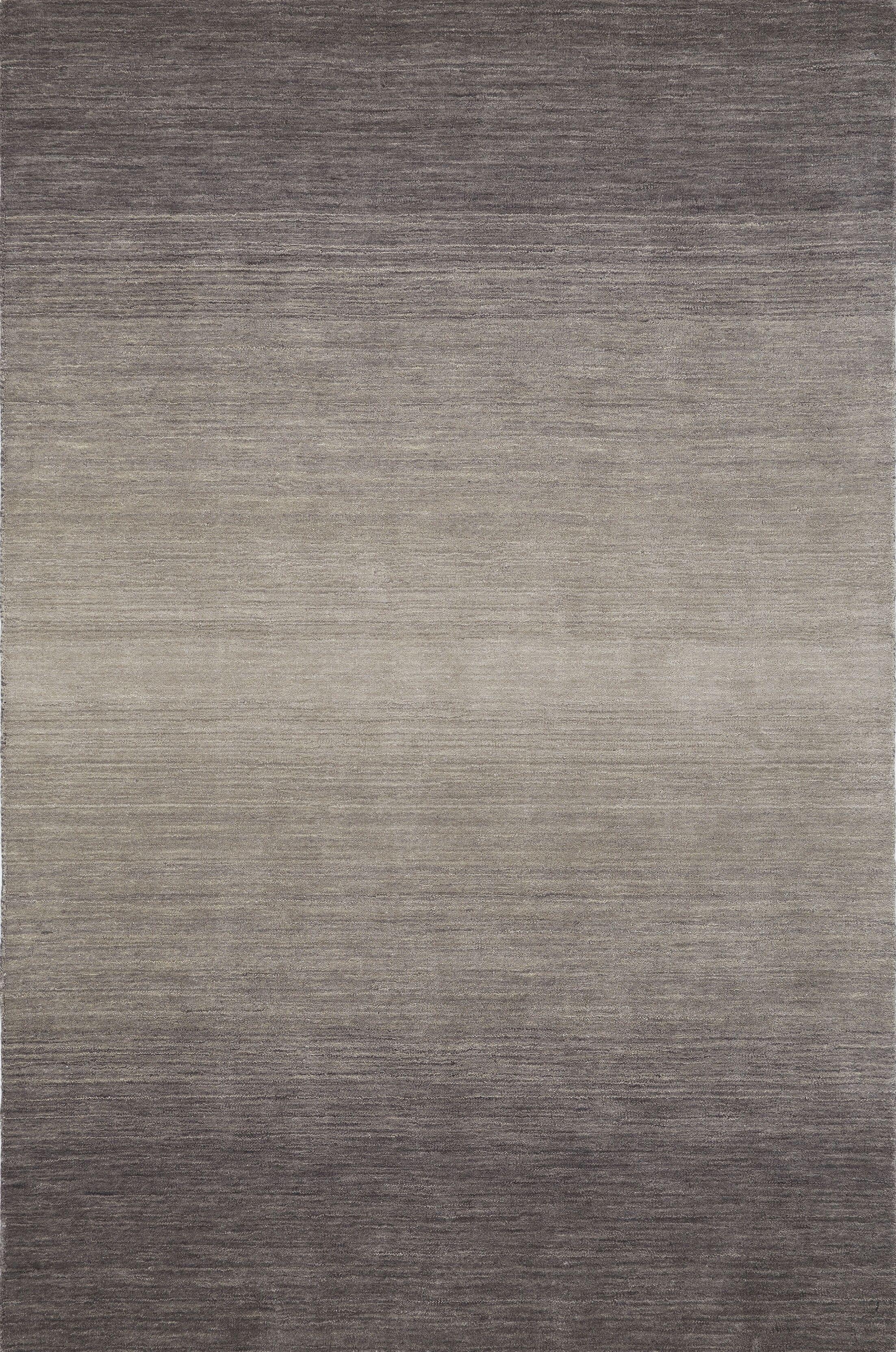 Louisa Hand Woven Wool Ash Area Rug Rug Size: Rectangle 7'9