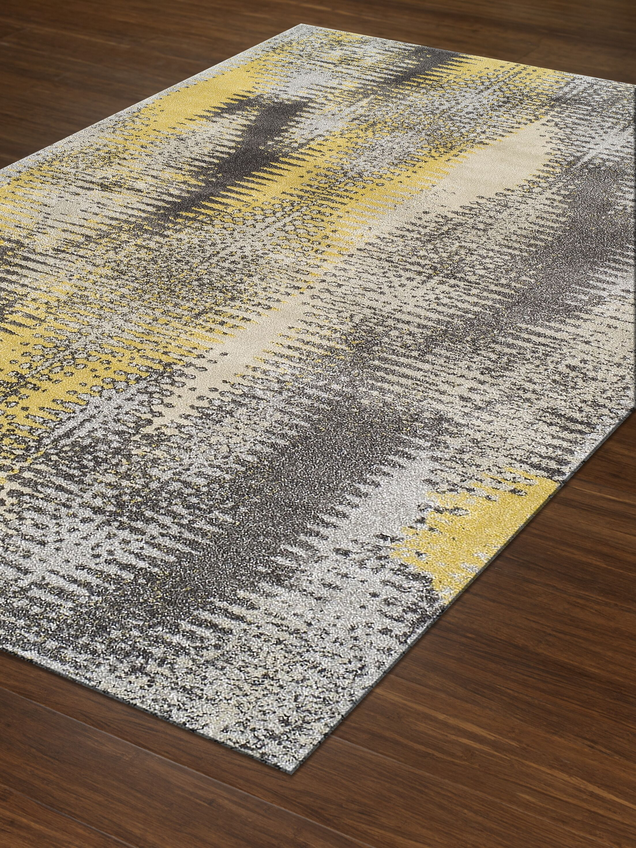 Alessandra Graphite Rug Size: Rectangle 5'3
