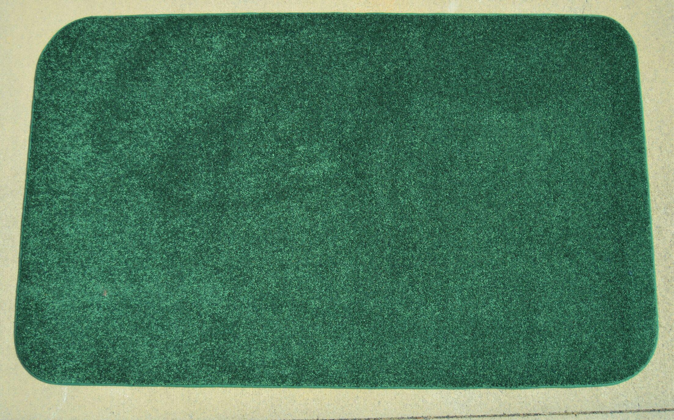 Makenna Polo Green Area Rug Rug Size: 6' x 9'