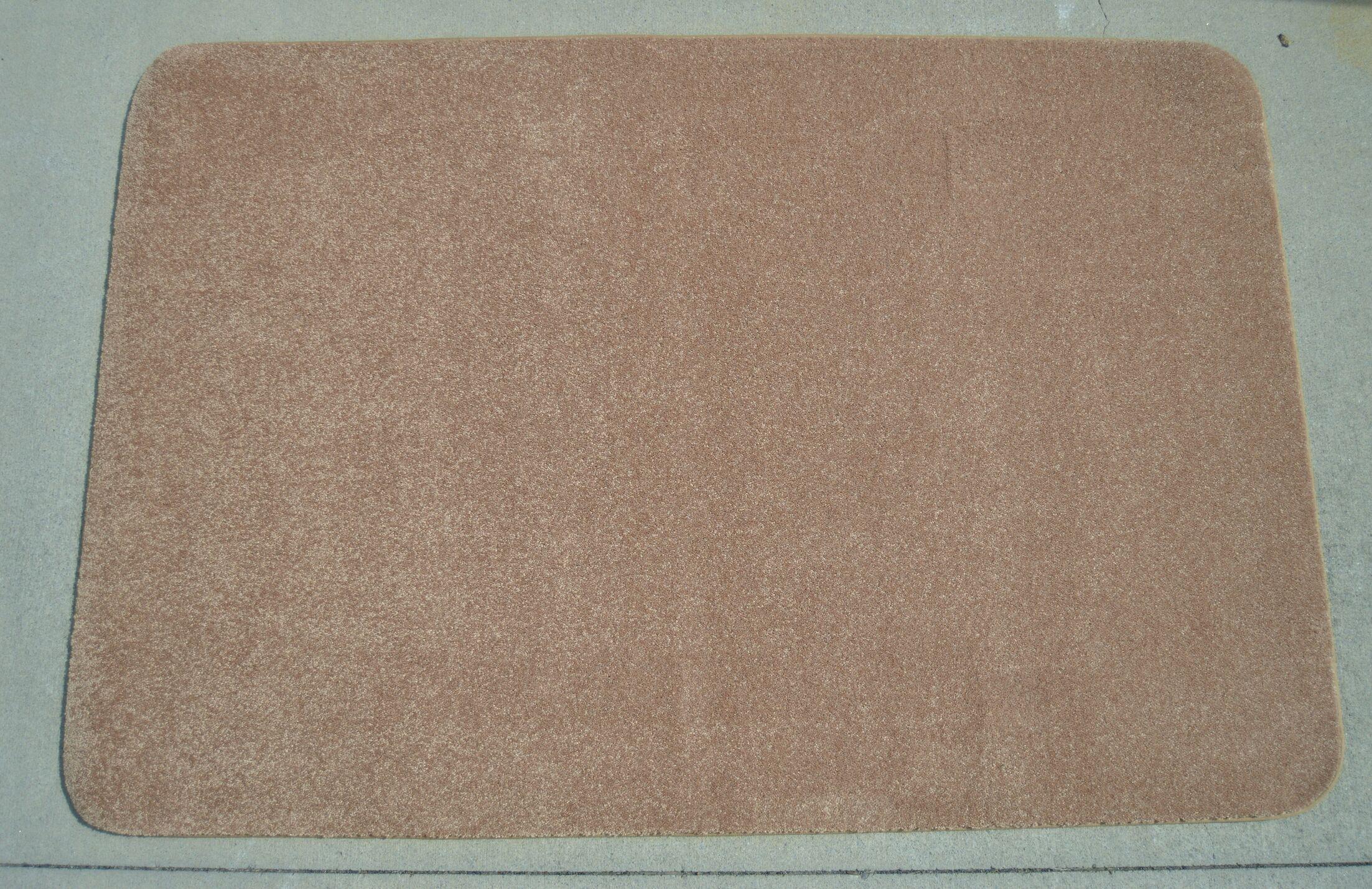 Makenna Brown Area Rug Rug Size: 4' x 6'