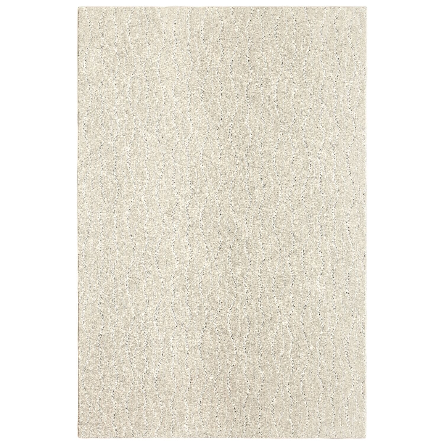 Bettie Hand-Tufted Neutral Area Rug Rug Size: Rectangle 9' x 12'
