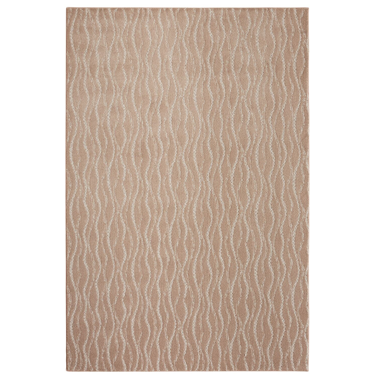 Bettie Hand-Tufted Brown Area Rug Rug Size: Rectangle 9' x 12'